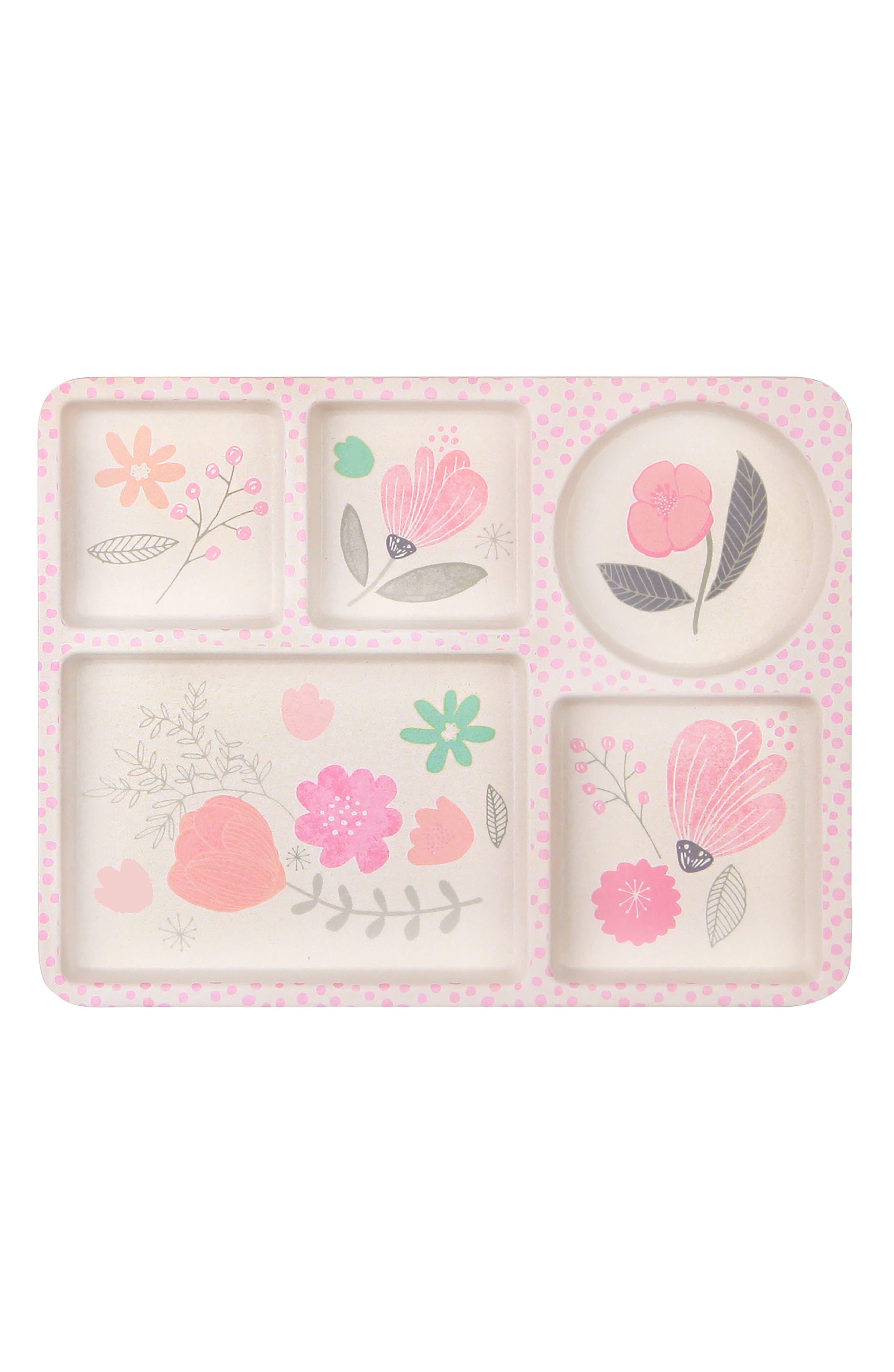 5-Piece Dinnerware Set,                             Alternate thumbnail 3, color,                             Flower Garden