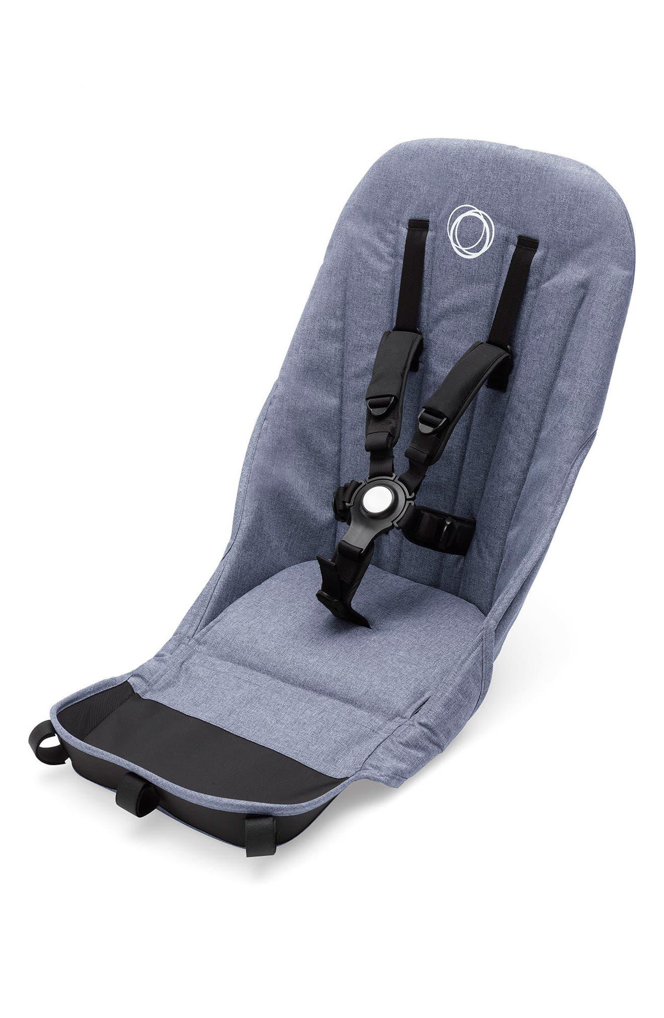 Seat Fabric for Donkey 2 Stroller,                         Main,                         color, Blue Melange