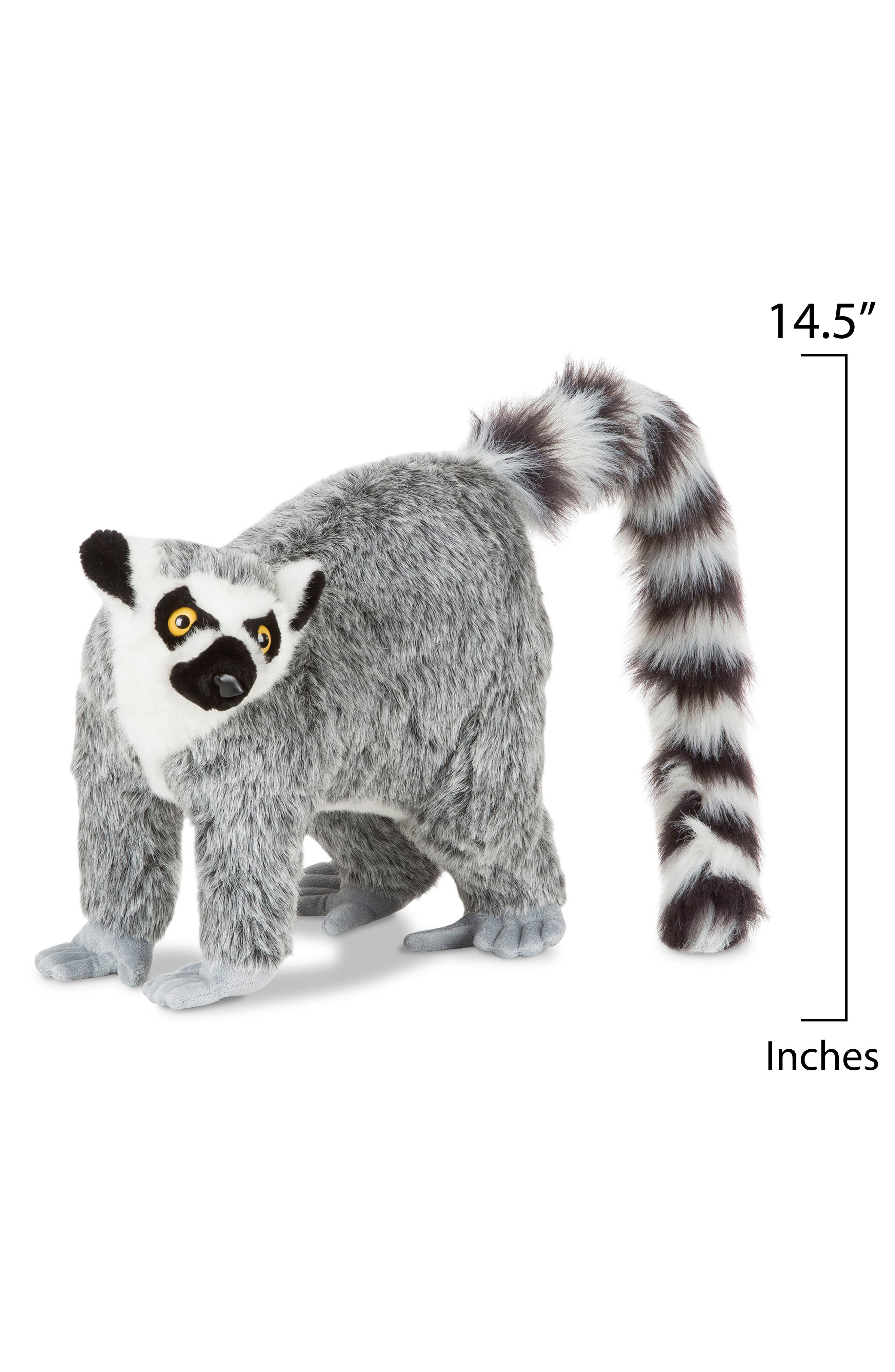 Alternate Image 2  - Melissa & Doug Lemur Stuffed Animal