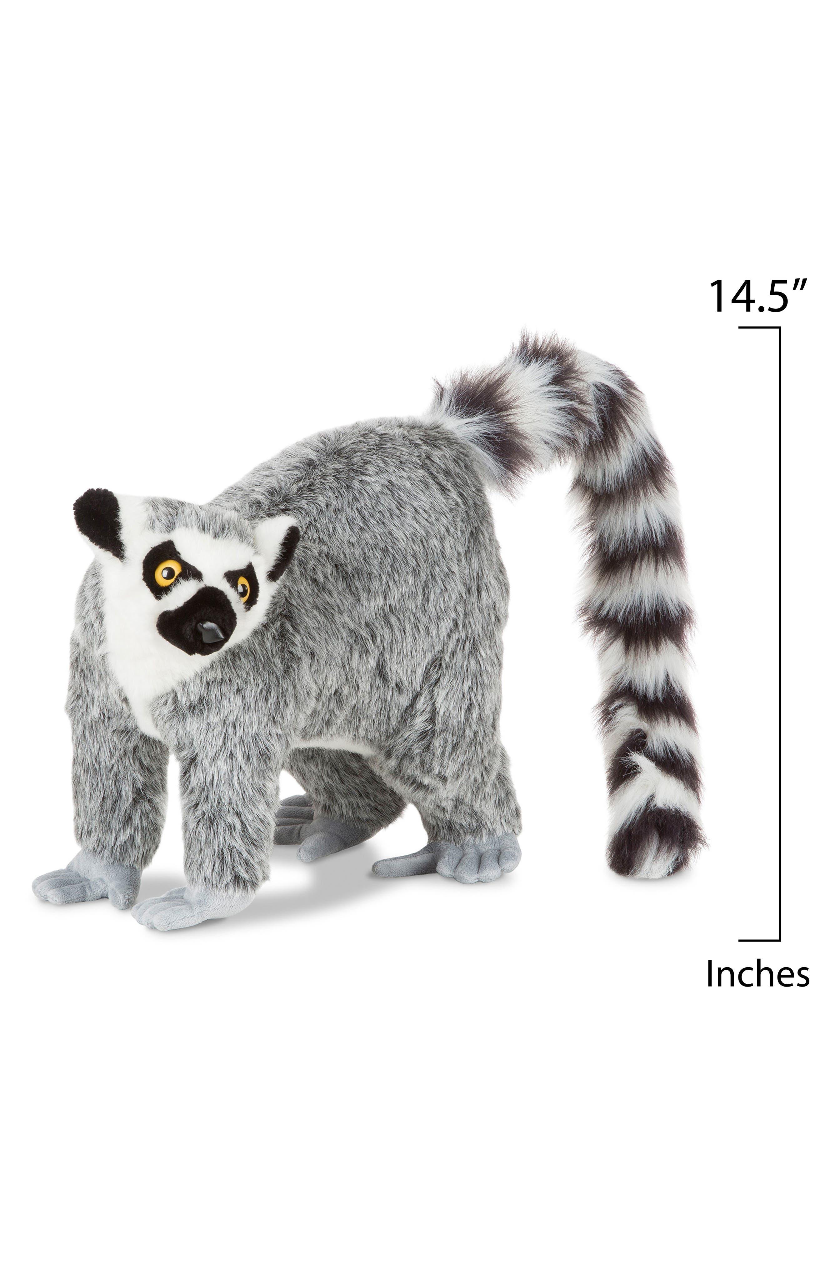 Lemur Stuffed Animal,                             Alternate thumbnail 2, color,                             Grey Multi