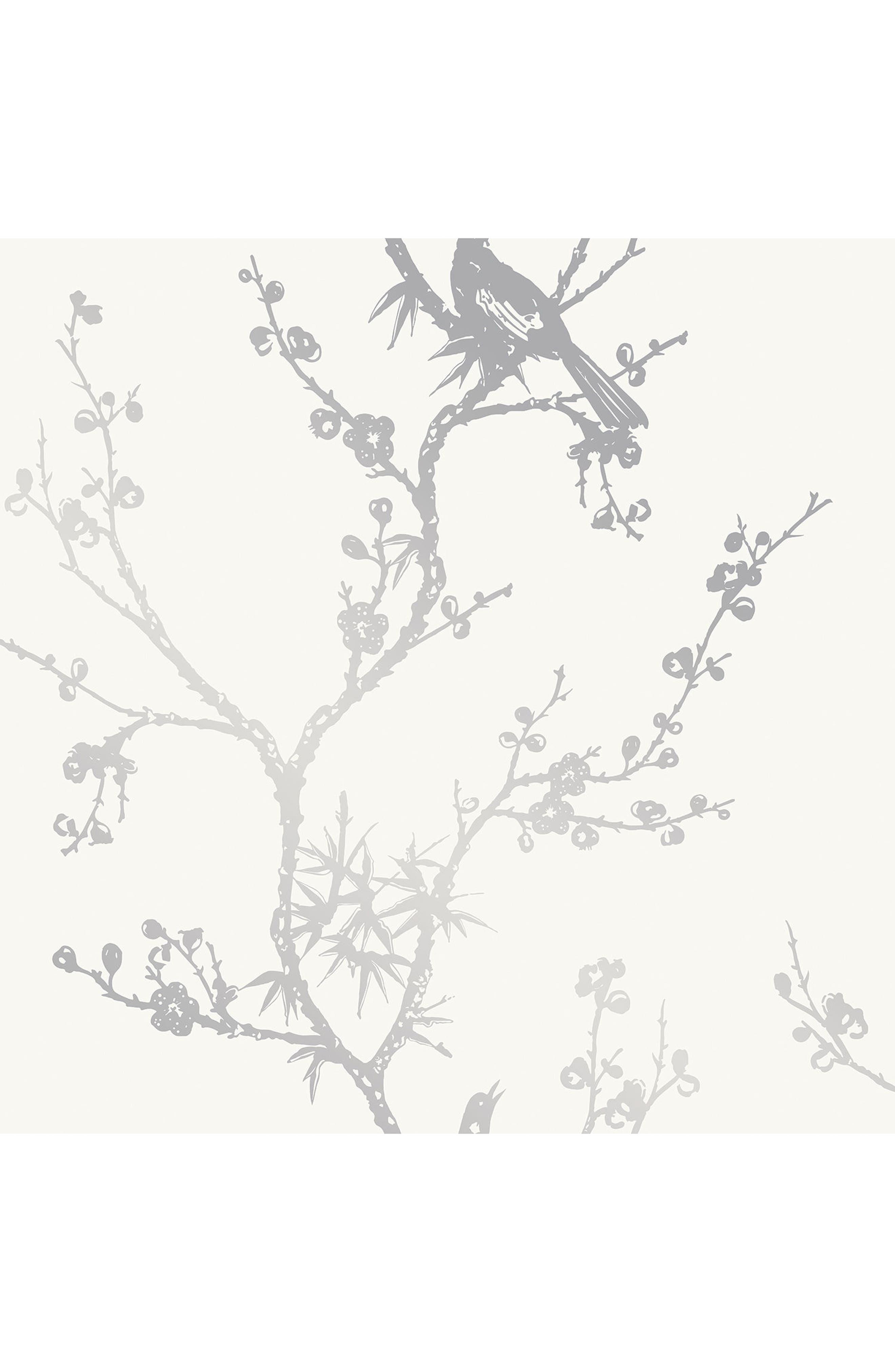 Alternate Image 1 Selected - Tempaper Bird Watching Self Adhesive Vinyl Wallpaper