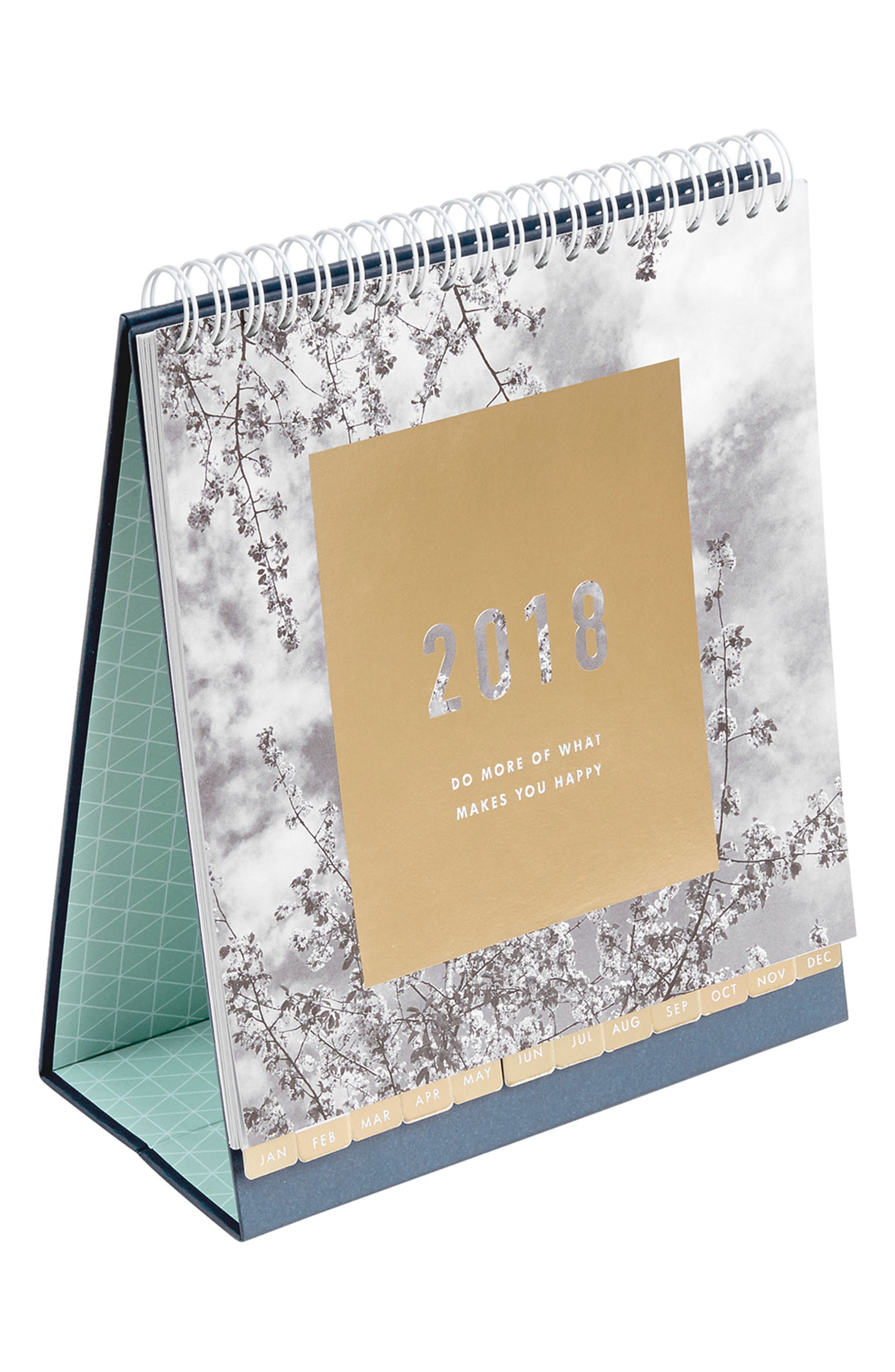 Alternate Image 1 Selected - kikki.K Inspiration 2018 Desk Calendar