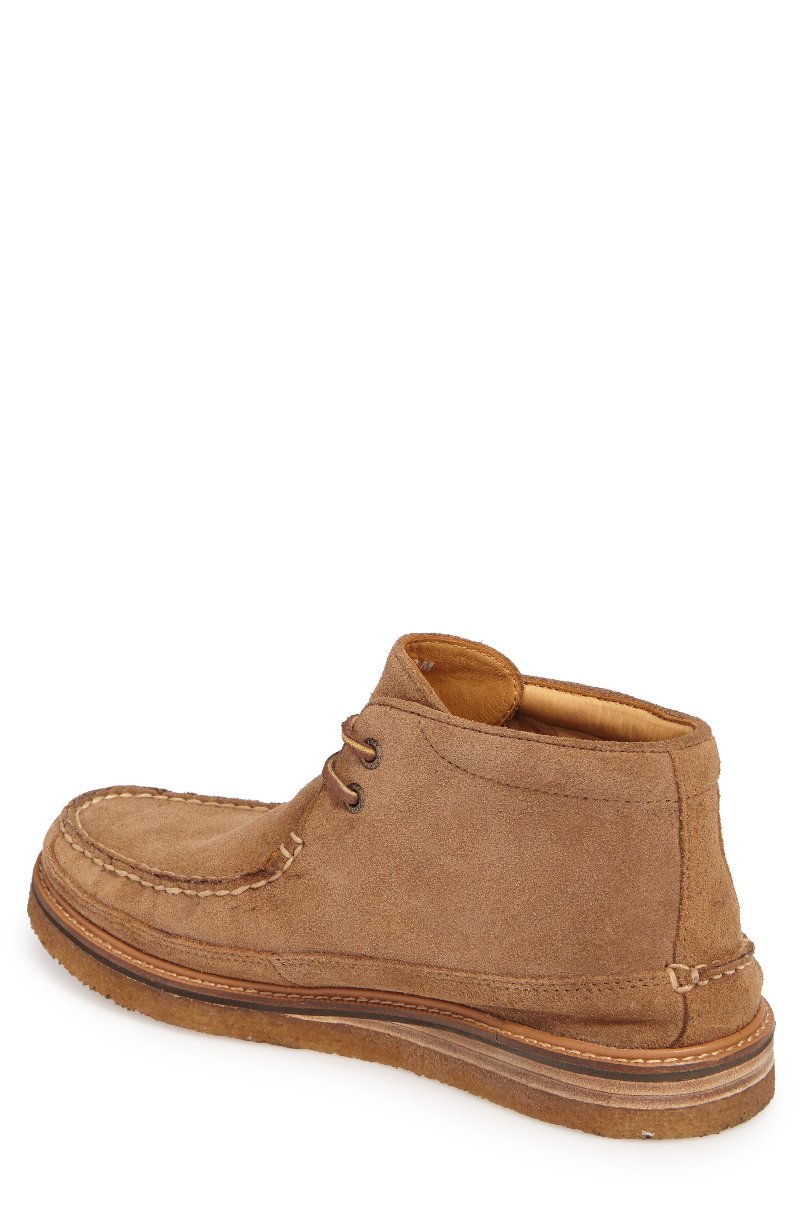 Gold Cup Chukka Boot,                             Alternate thumbnail 2, color,                             Caramel Suede