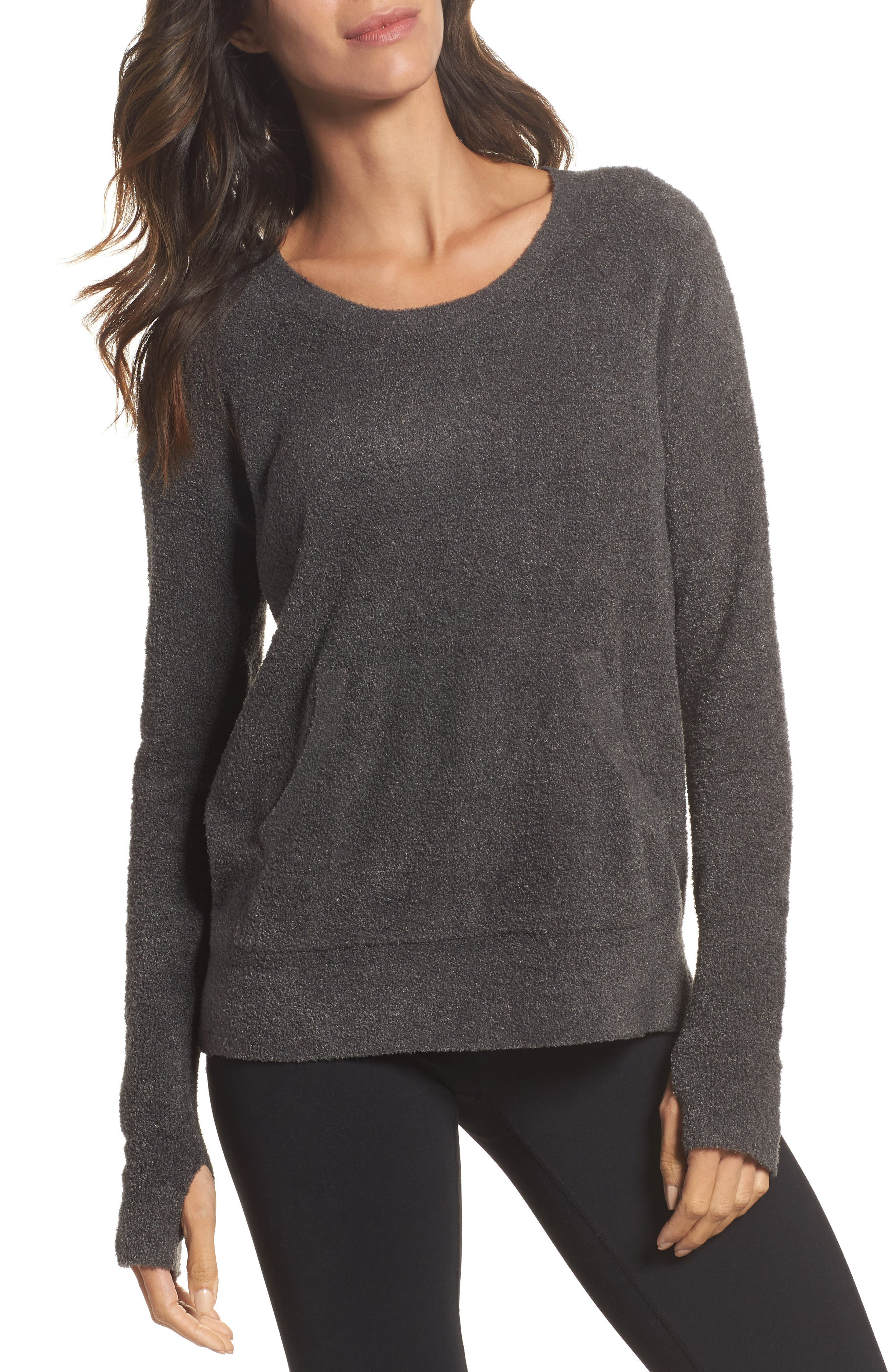 Cozychic Lite<sup>®</sup> Pullover,                         Main,                         color, Carbon
