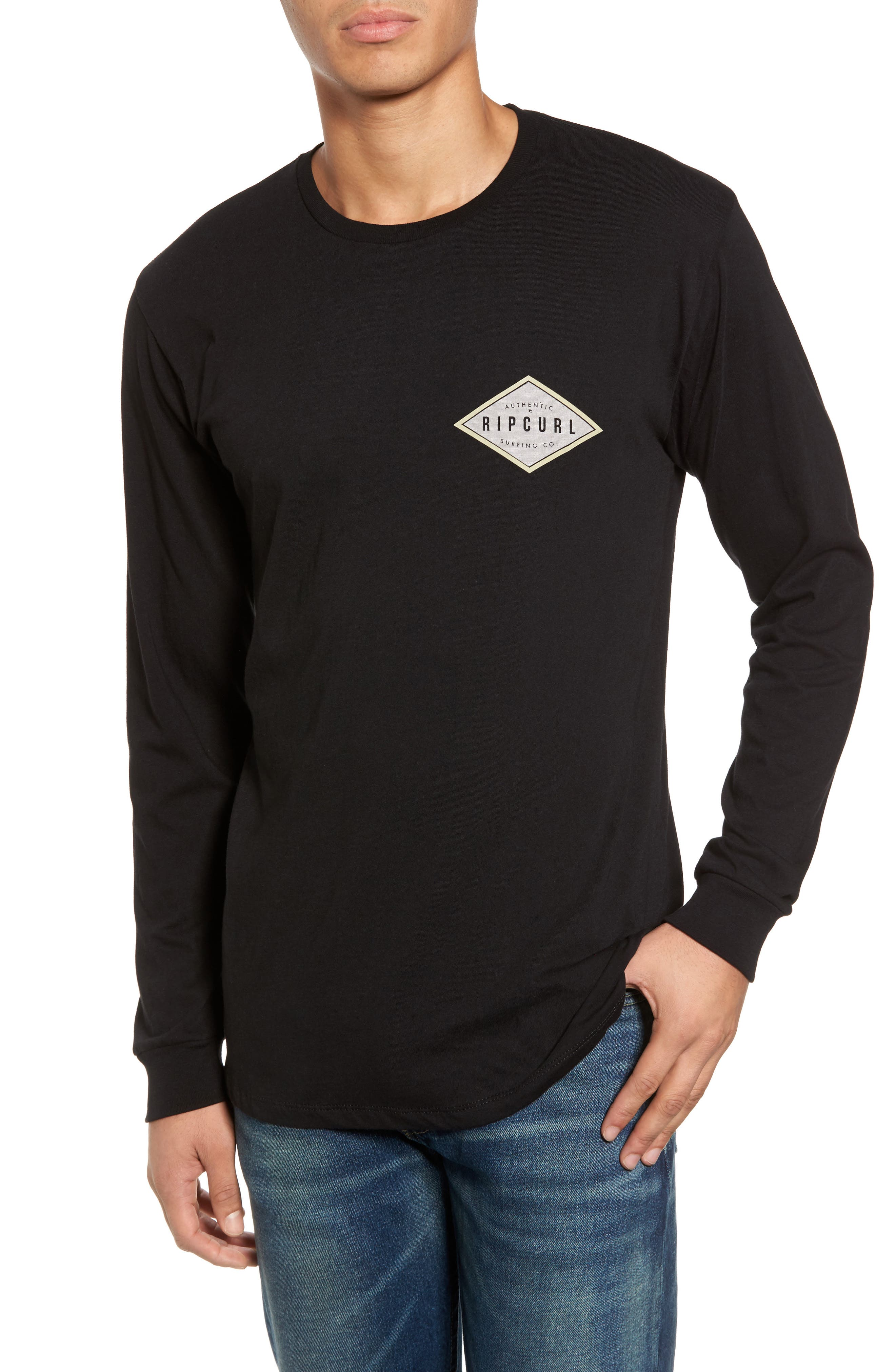 Rip Curl Cast Long Sleeve T-Shirt