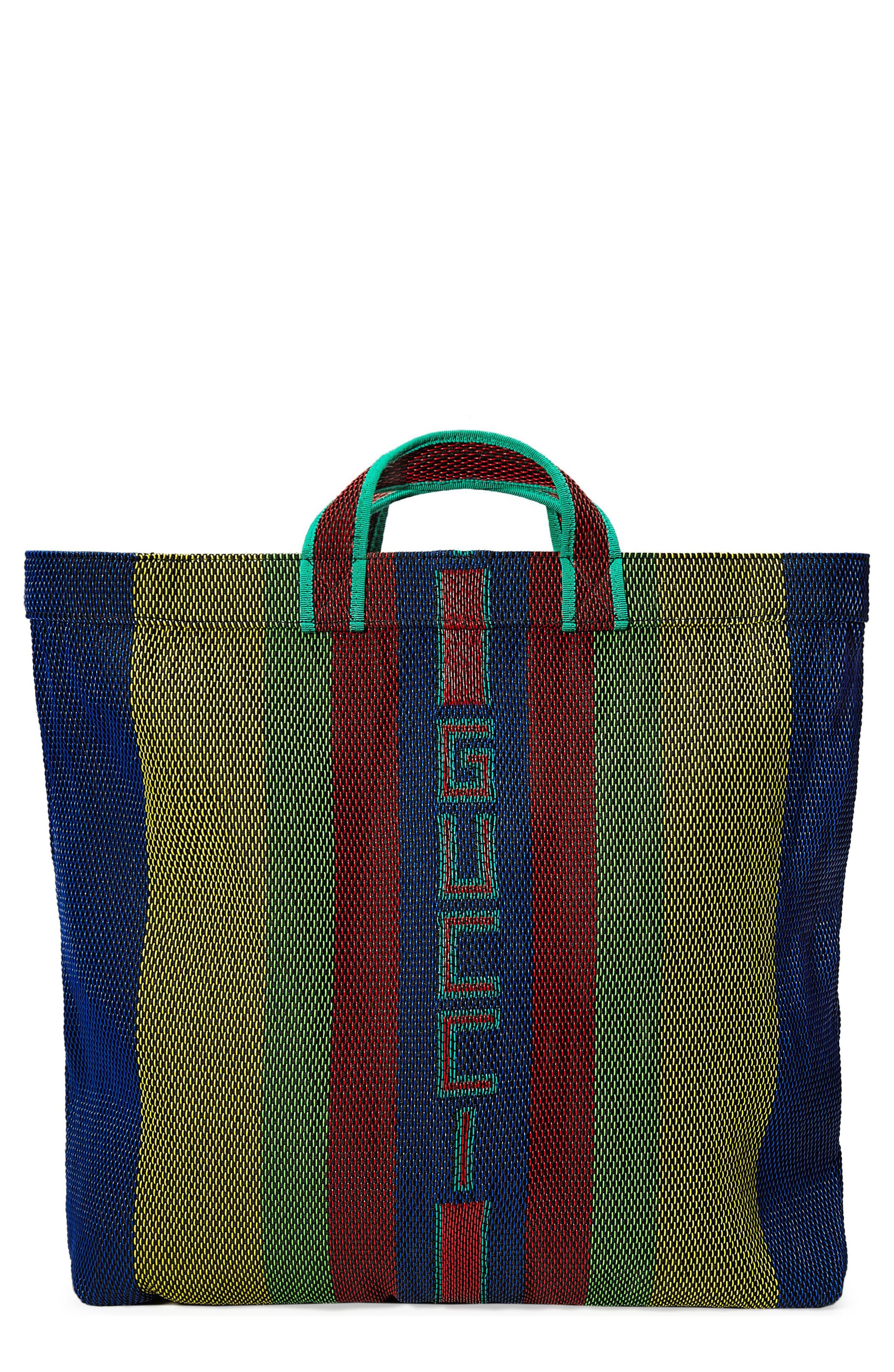 Alternate Image 1 Selected - Gucci Multicolor Tote