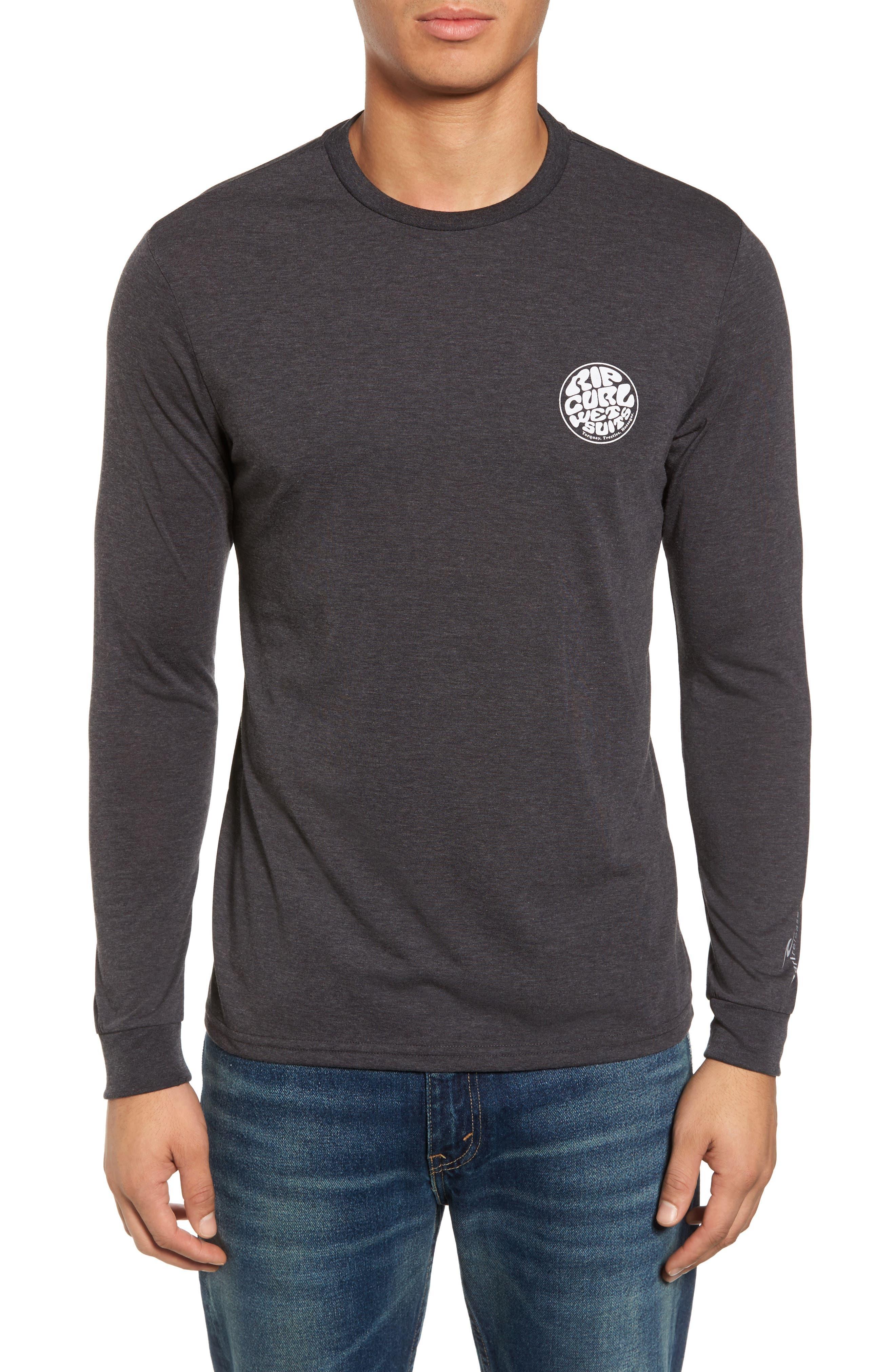 Mini Wettie Tech T-Shirt,                             Main thumbnail 1, color,                             Charcoal