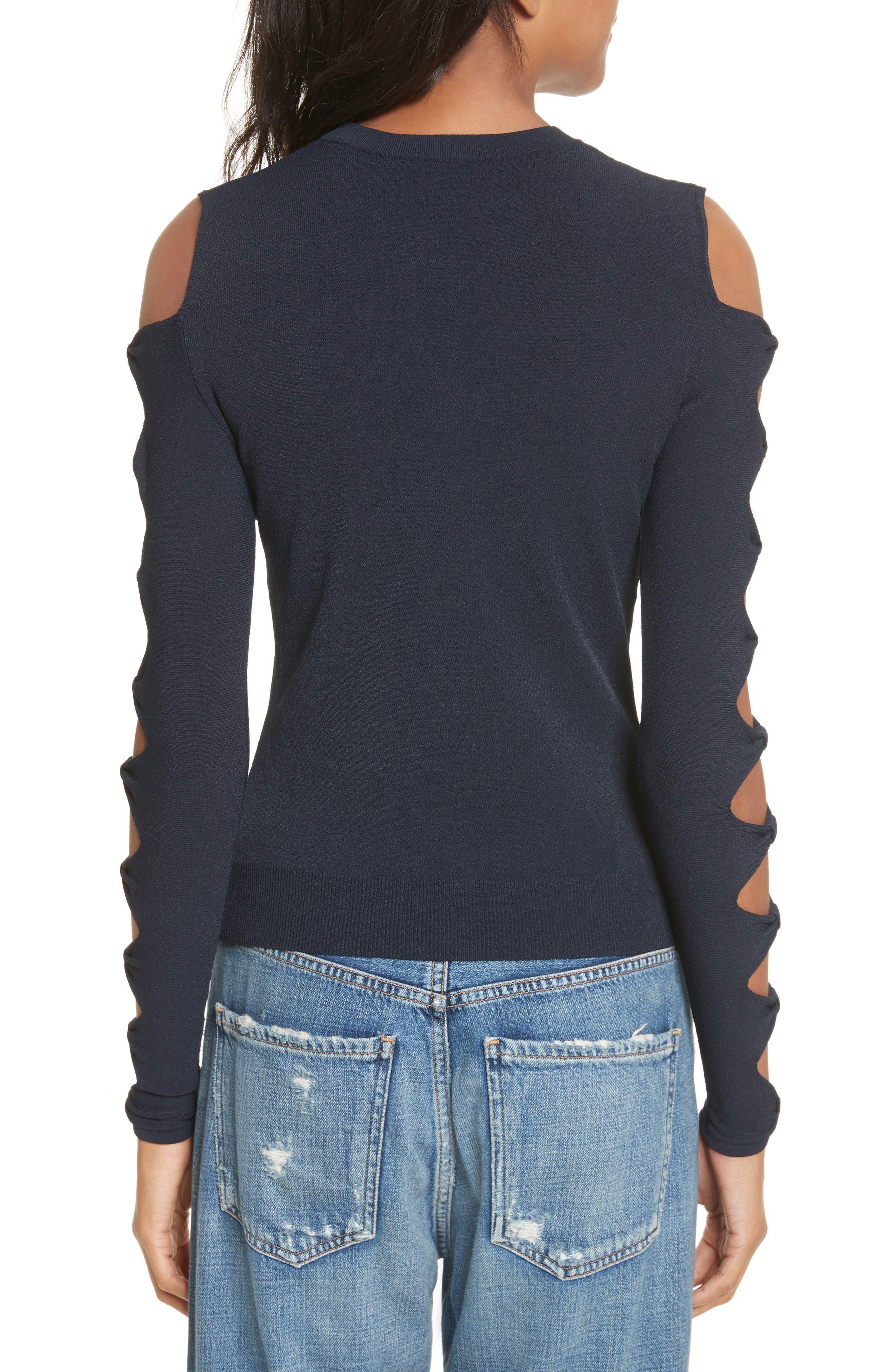 Alternate Image 2  - autumn cashmere Open Bow Sleeve Sweater