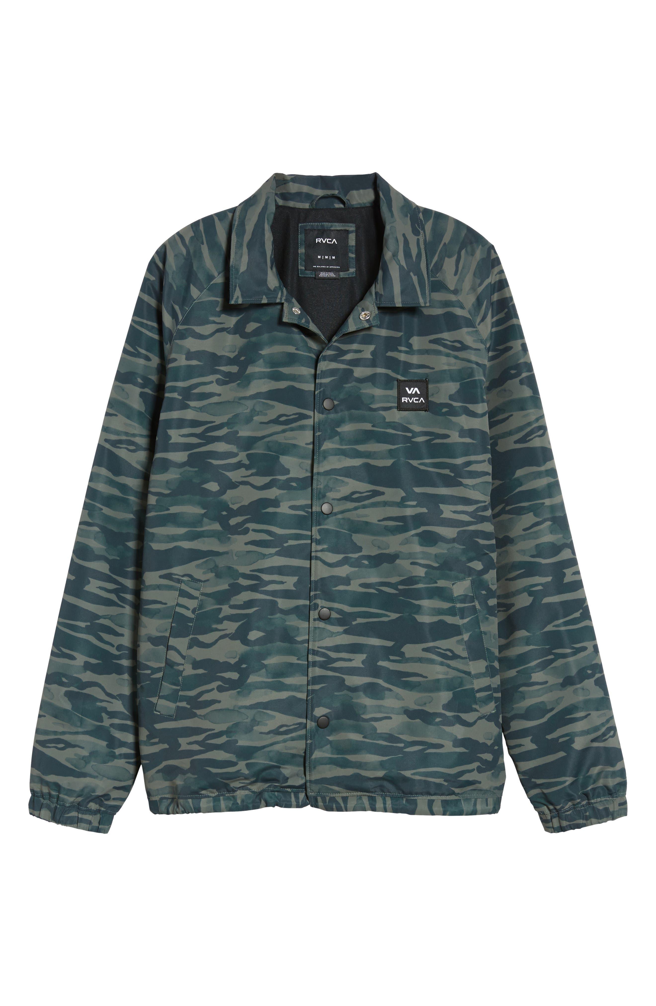 Alternate Image 6  - RVCA All the Way Coach's Jacket
