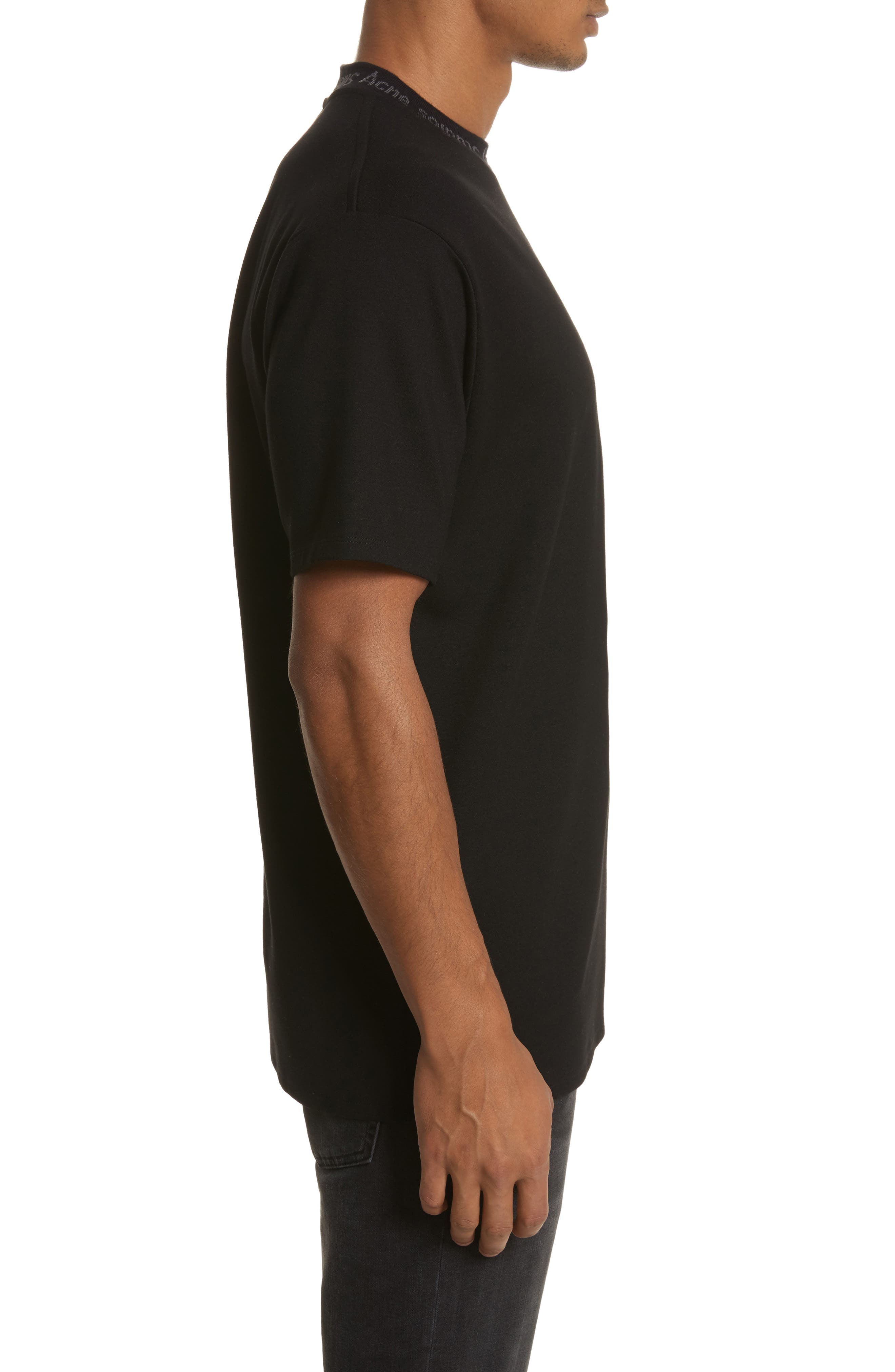 Alternate Image 3  - Acne Studios Navid Logo Collar T-Shirt
