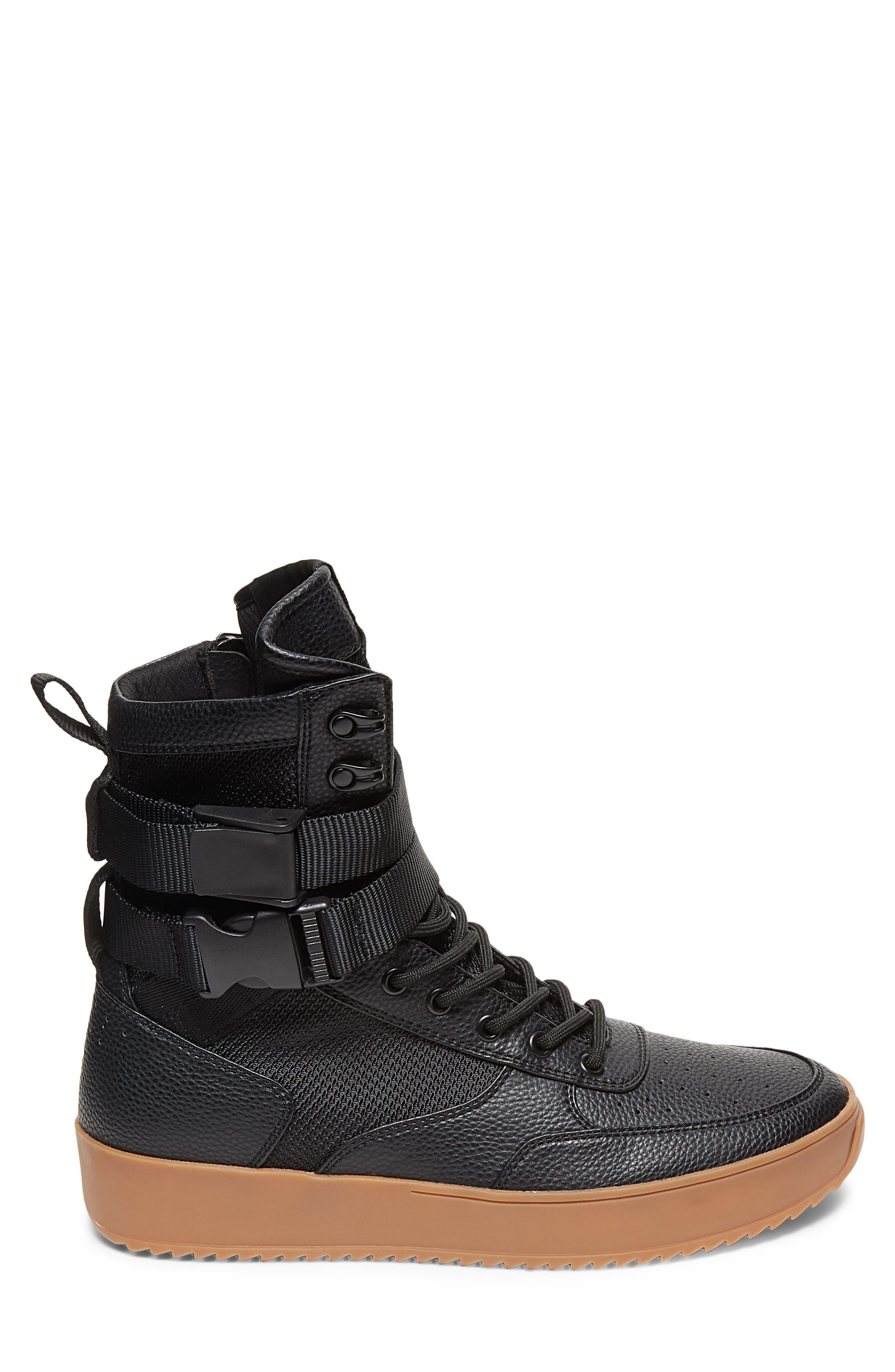 Zeroday Sneaker,                             Alternate thumbnail 3, color,                             Black