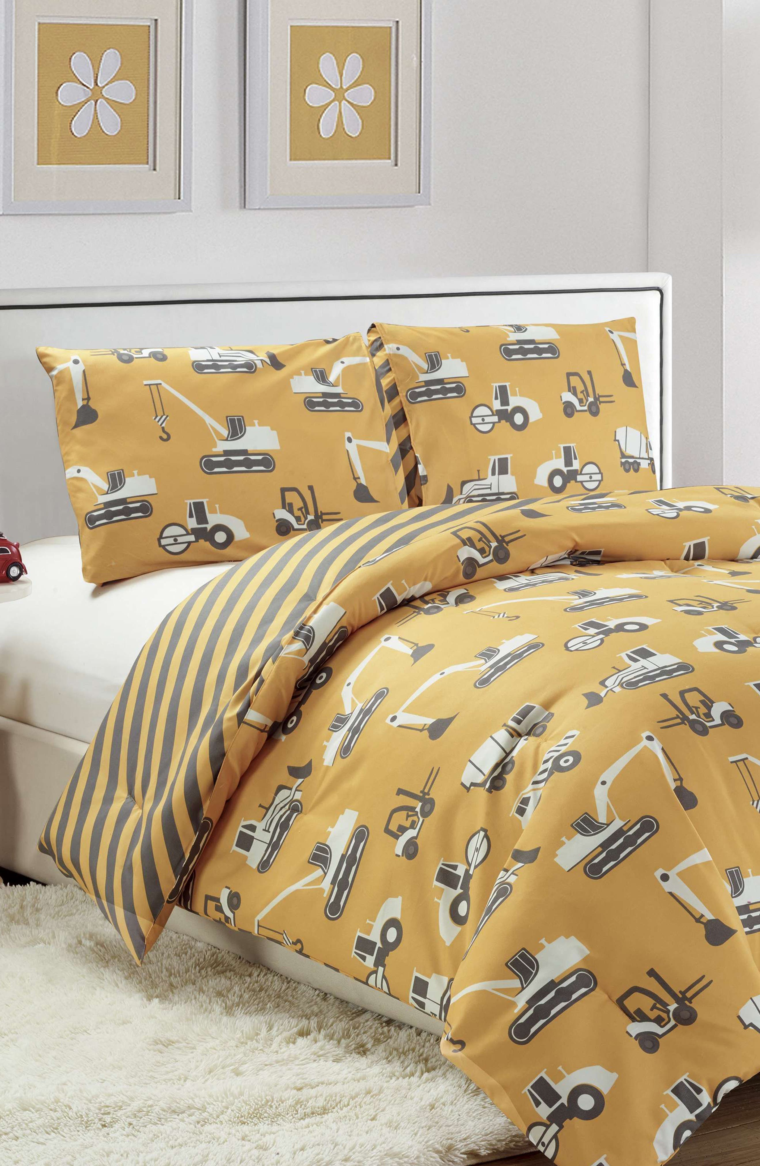 Tommy Comforter & Sham Set,                             Alternate thumbnail 2, color,                             Yellow