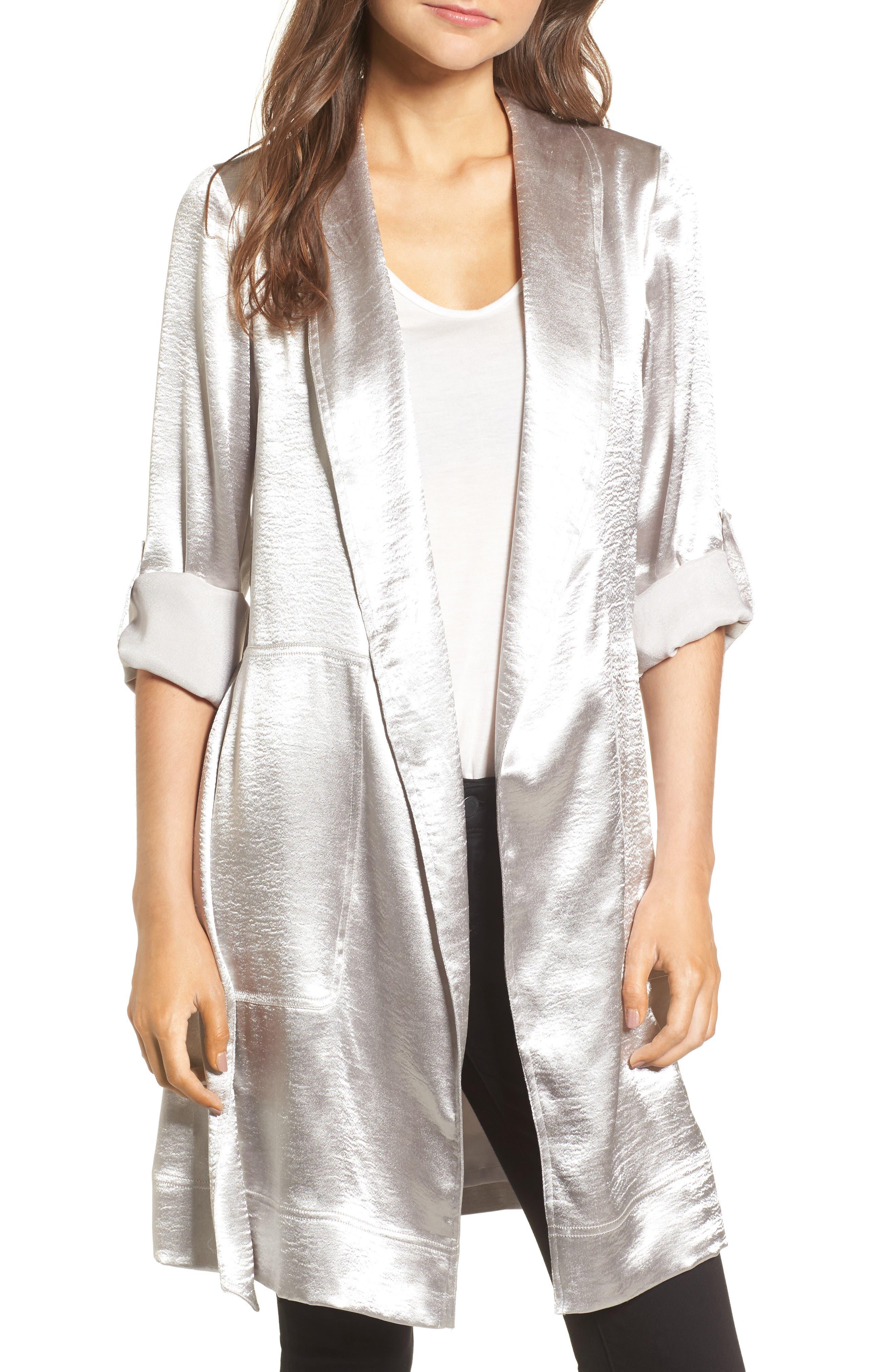 Reue Coat,                         Main,                         color, Silver