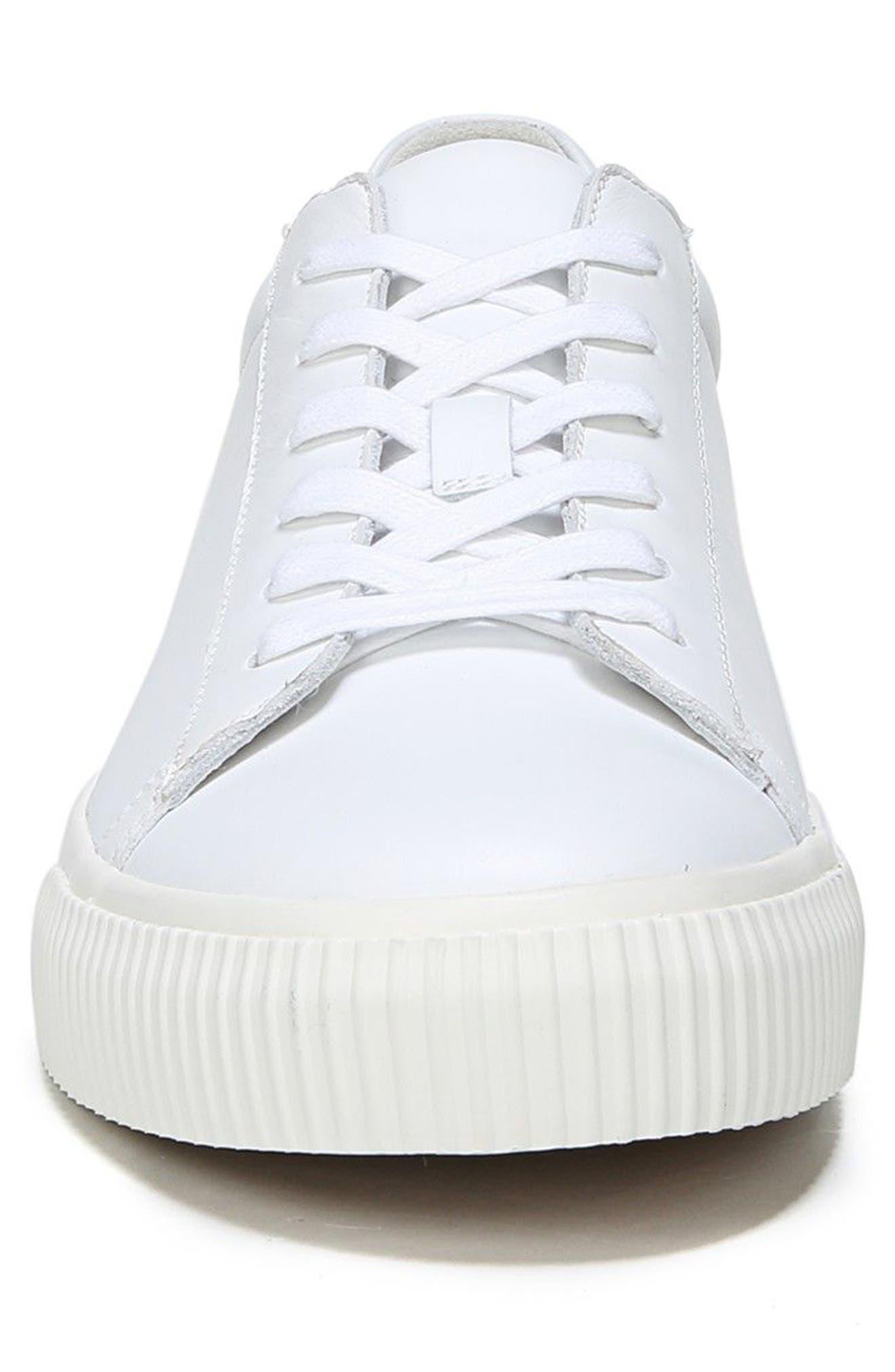 Kurtis Low Top Sneaker,                             Alternate thumbnail 4, color,                             White