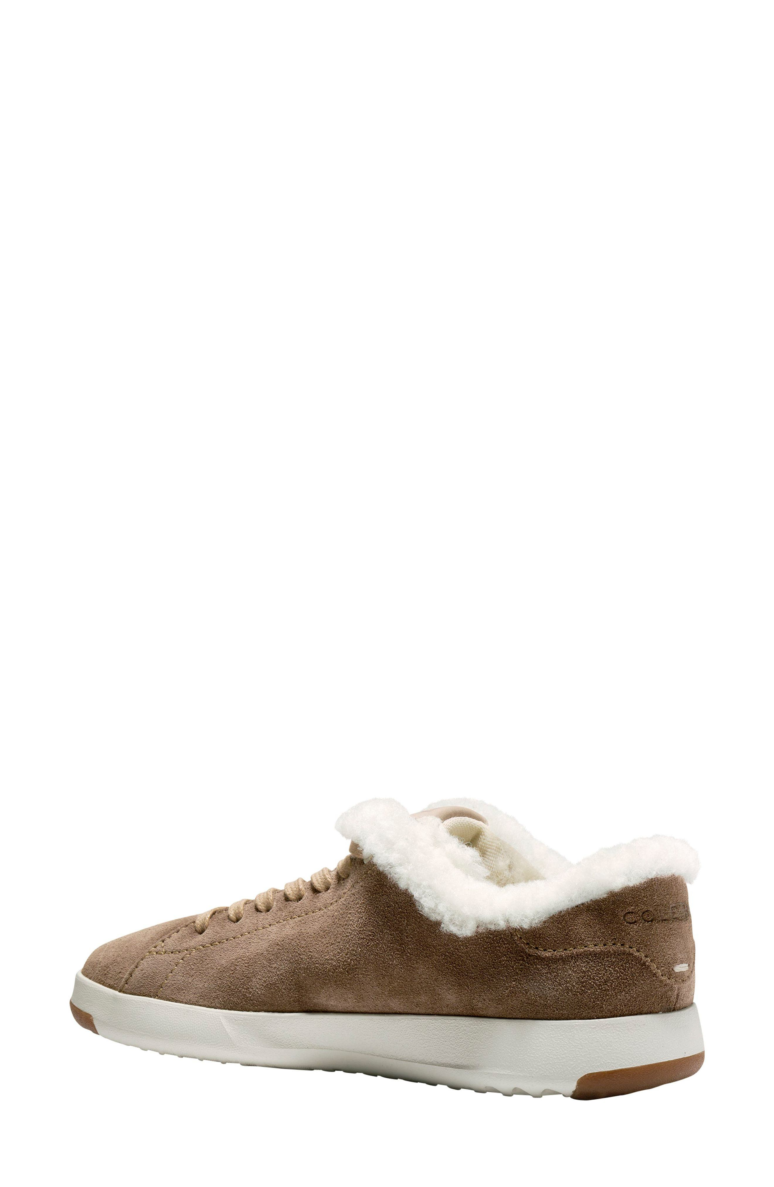 GrandPro Tennis Shoe,                             Alternate thumbnail 2, color,                             Warm Sand Suede