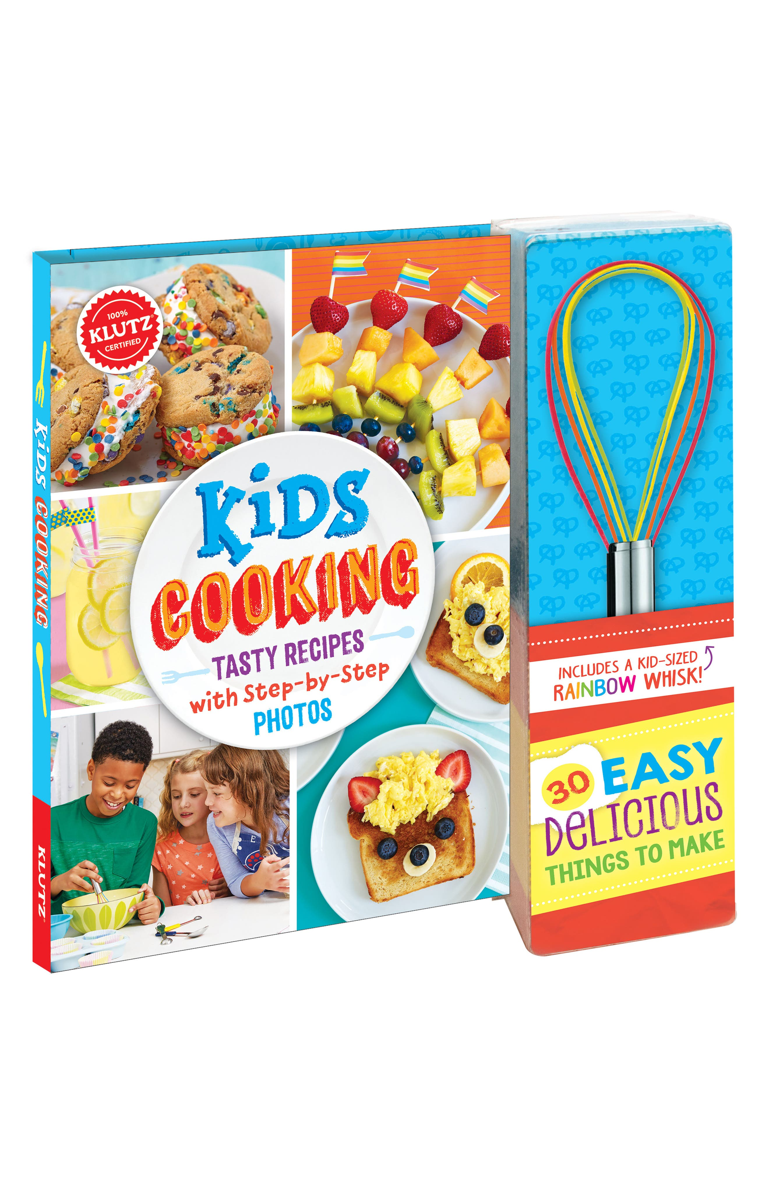 Klutz Kids Cooking Cookbook with Rainbow Whisk