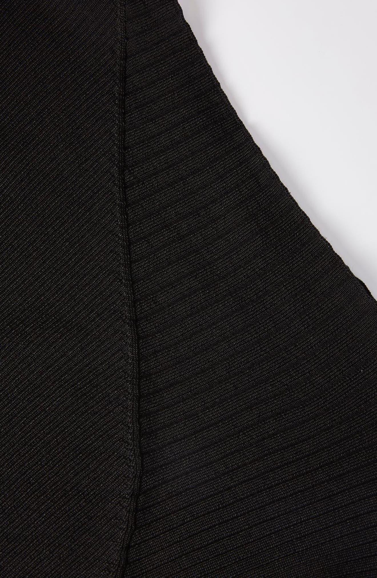 Alternate Image 3  - Topshop Boutique Slash Neck Asymmetrical Top