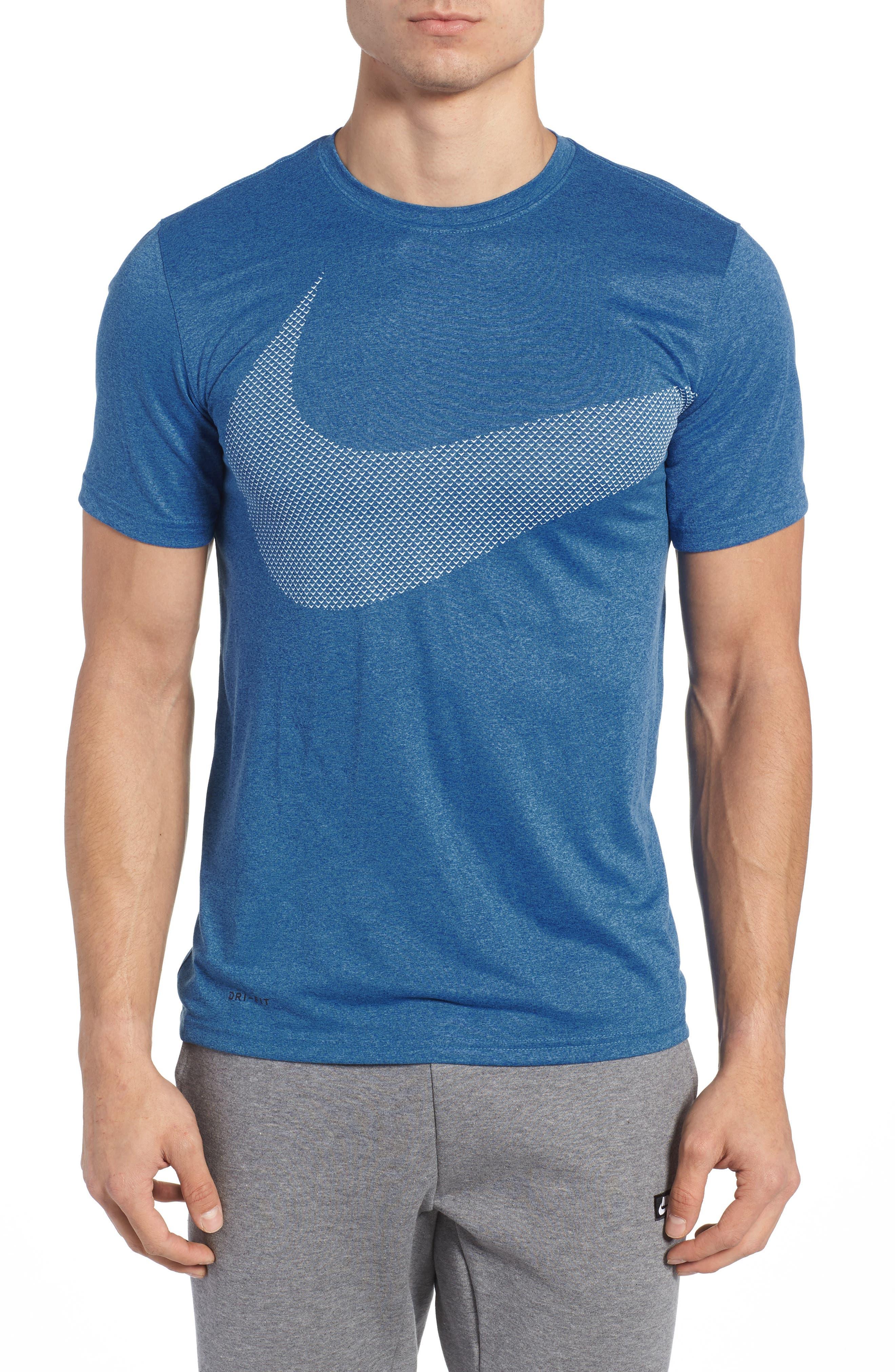 Nike Dry Swoosh Logo Training T-Shirt