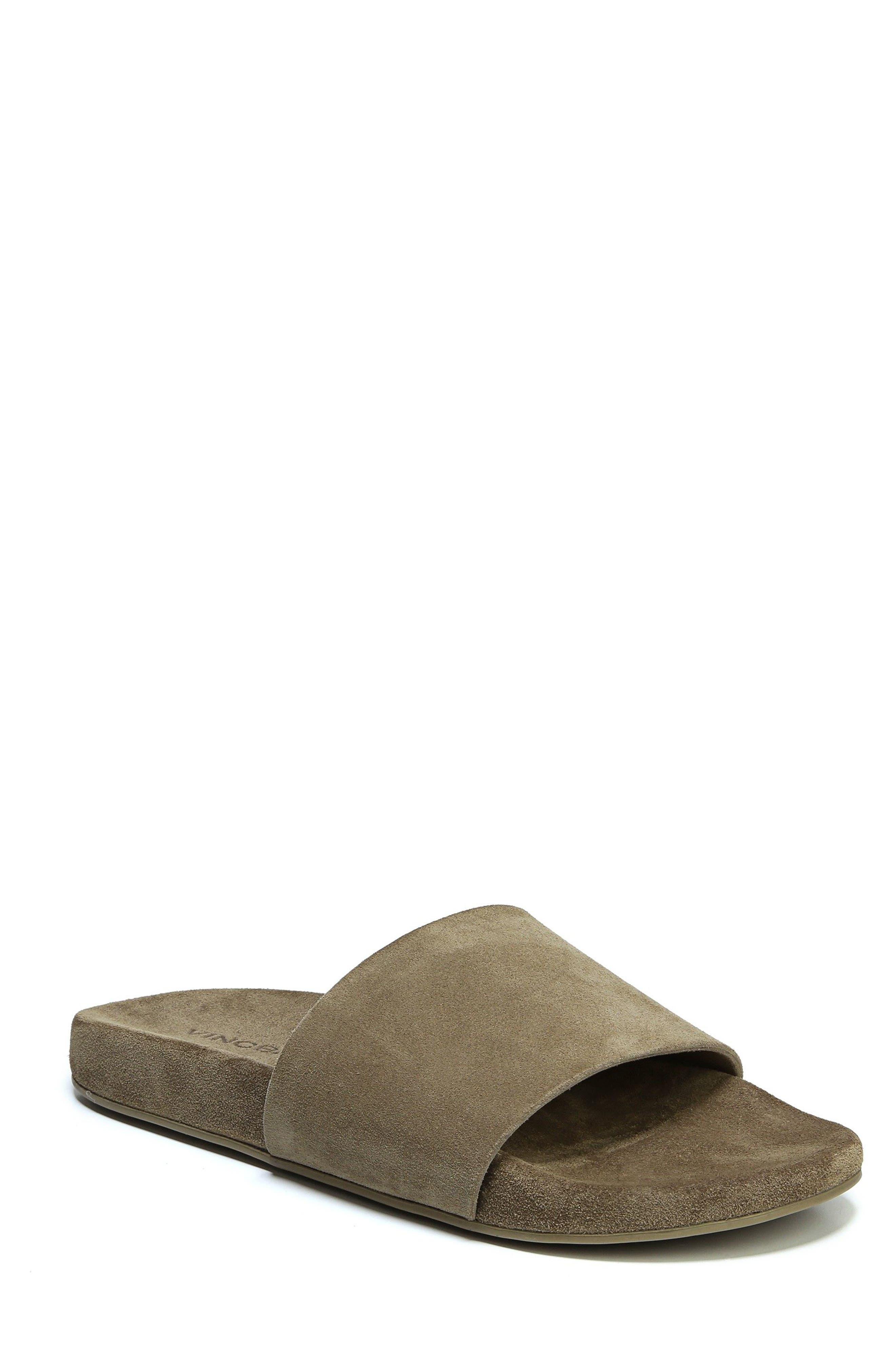 Vince Monaco Slide Sandal (Men)