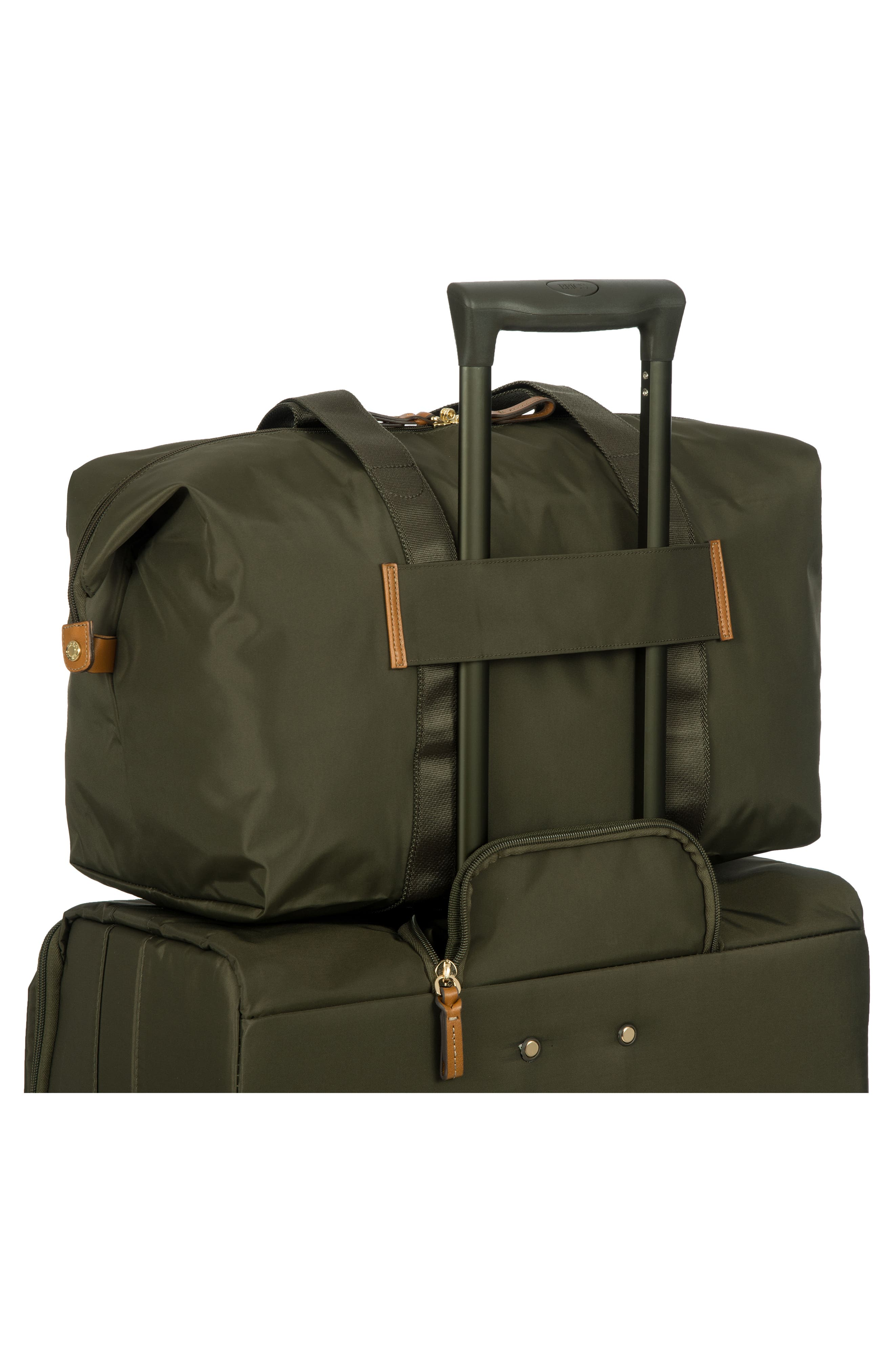 X-Bag 18-Inch Folding Duffel Bag,                             Alternate thumbnail 2, color,                             Olive