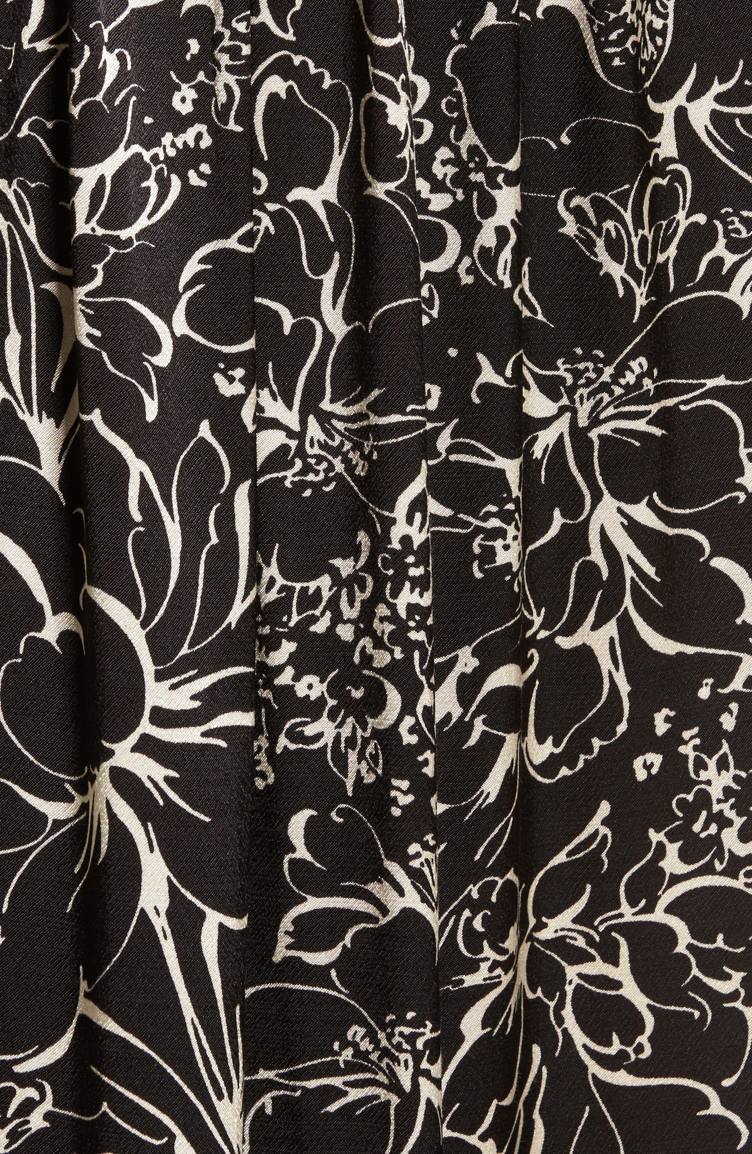 Alternate Image 5  - Treasure & Bond Blouson Print Dress