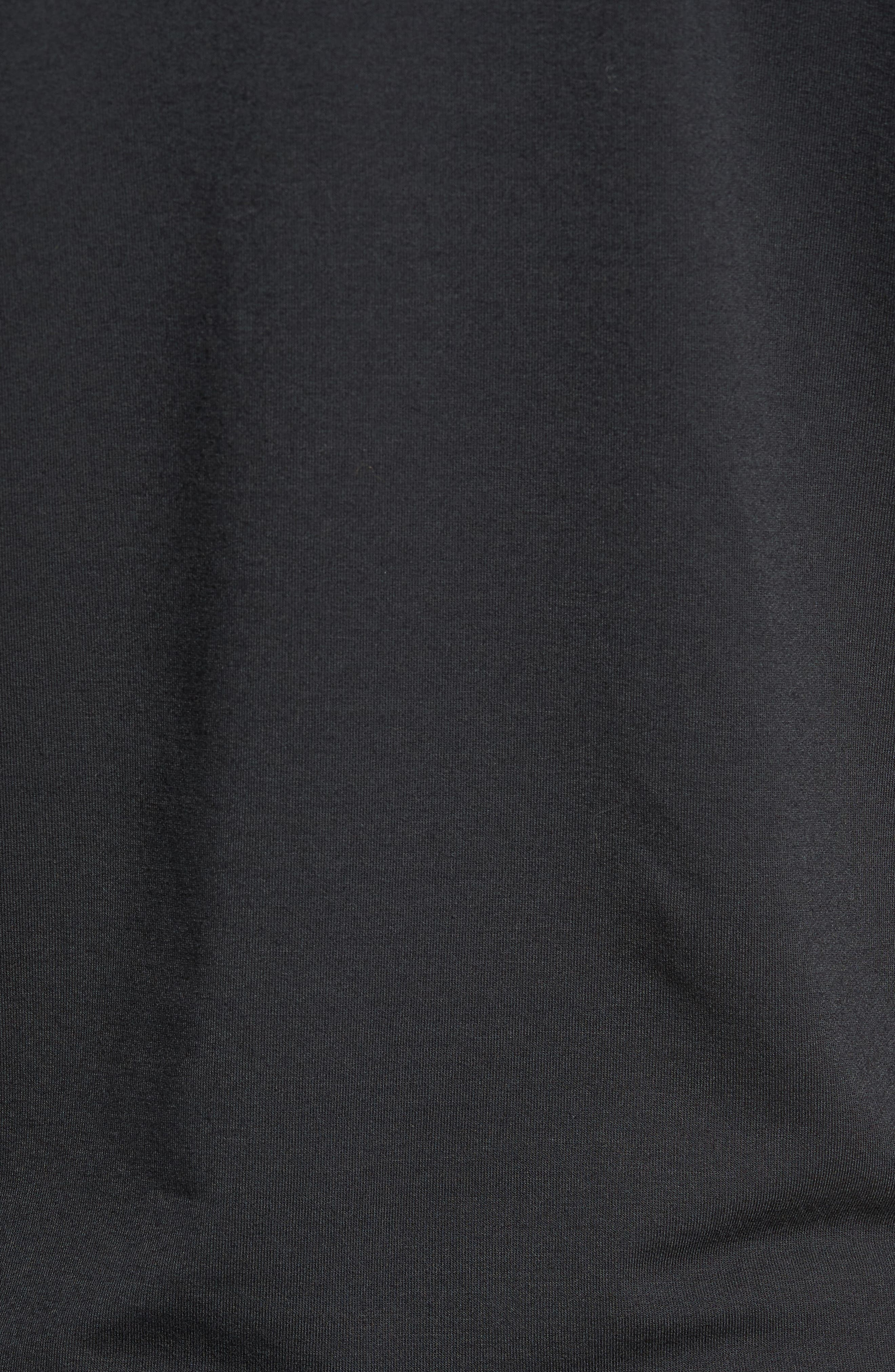 Distance Quarter Zip Pullover,                             Alternate thumbnail 5, color,                             Black
