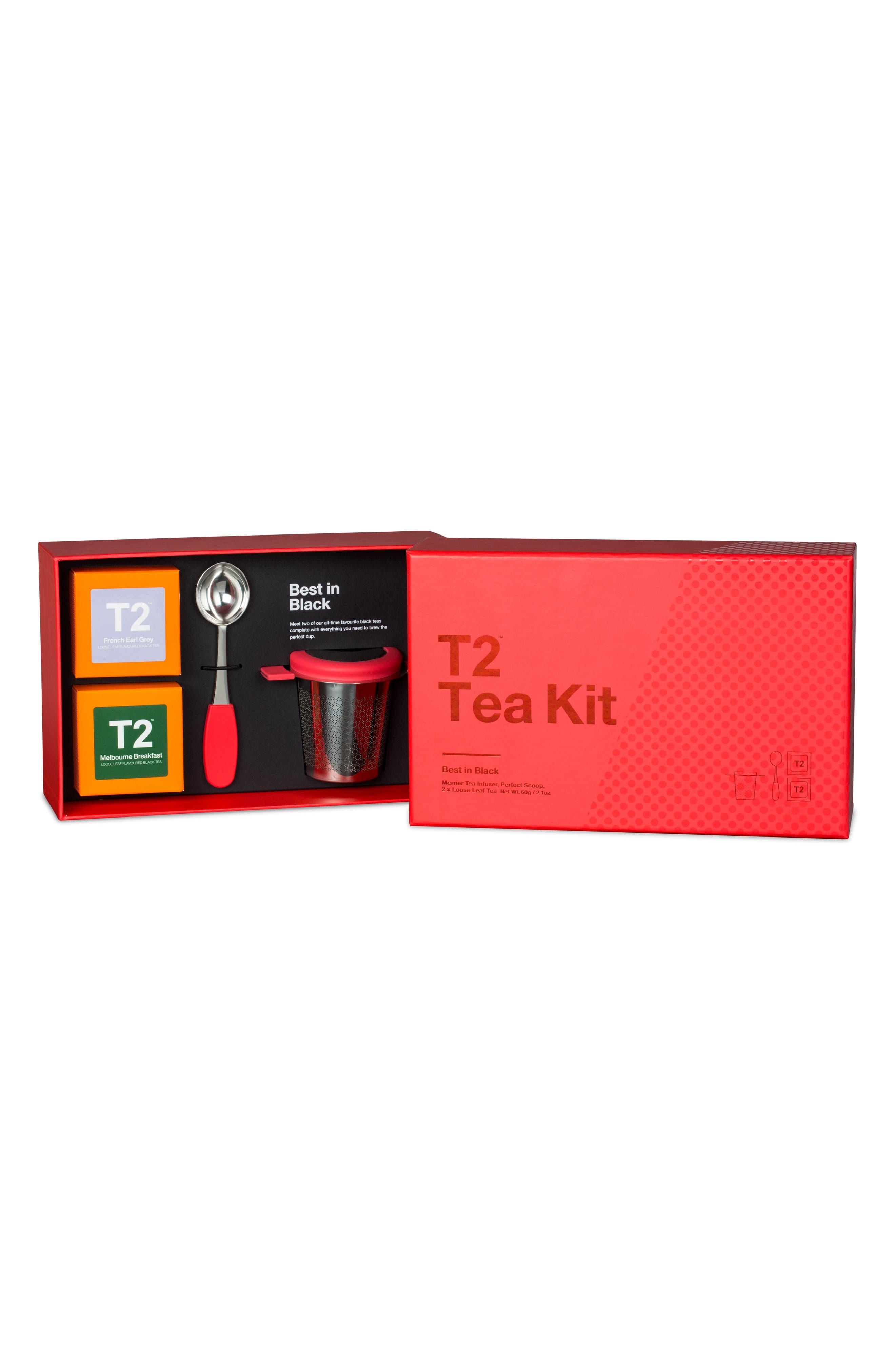 Alternate Image 2  - T2 Tea Best in Black Loose Leaf Tea Box Set