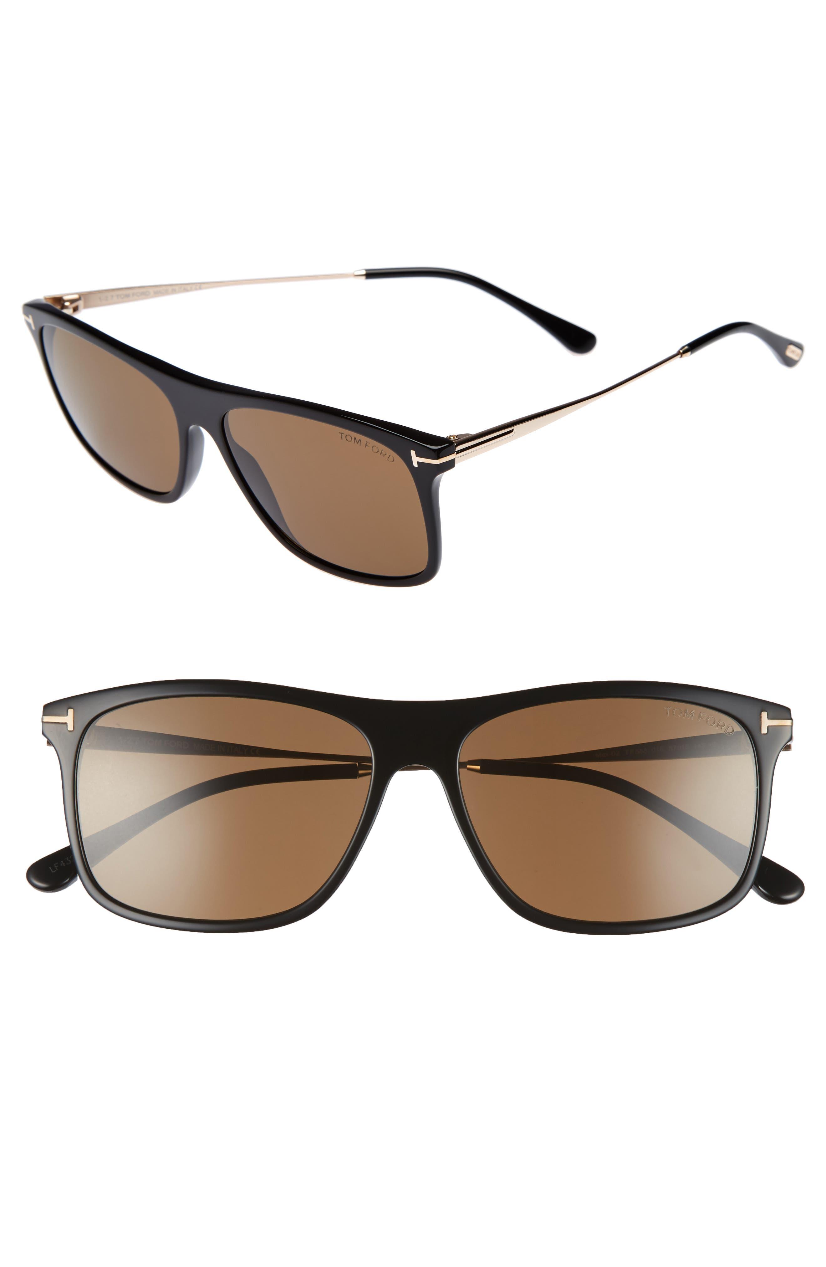 Tom Ford Max 57mm Sunglasses