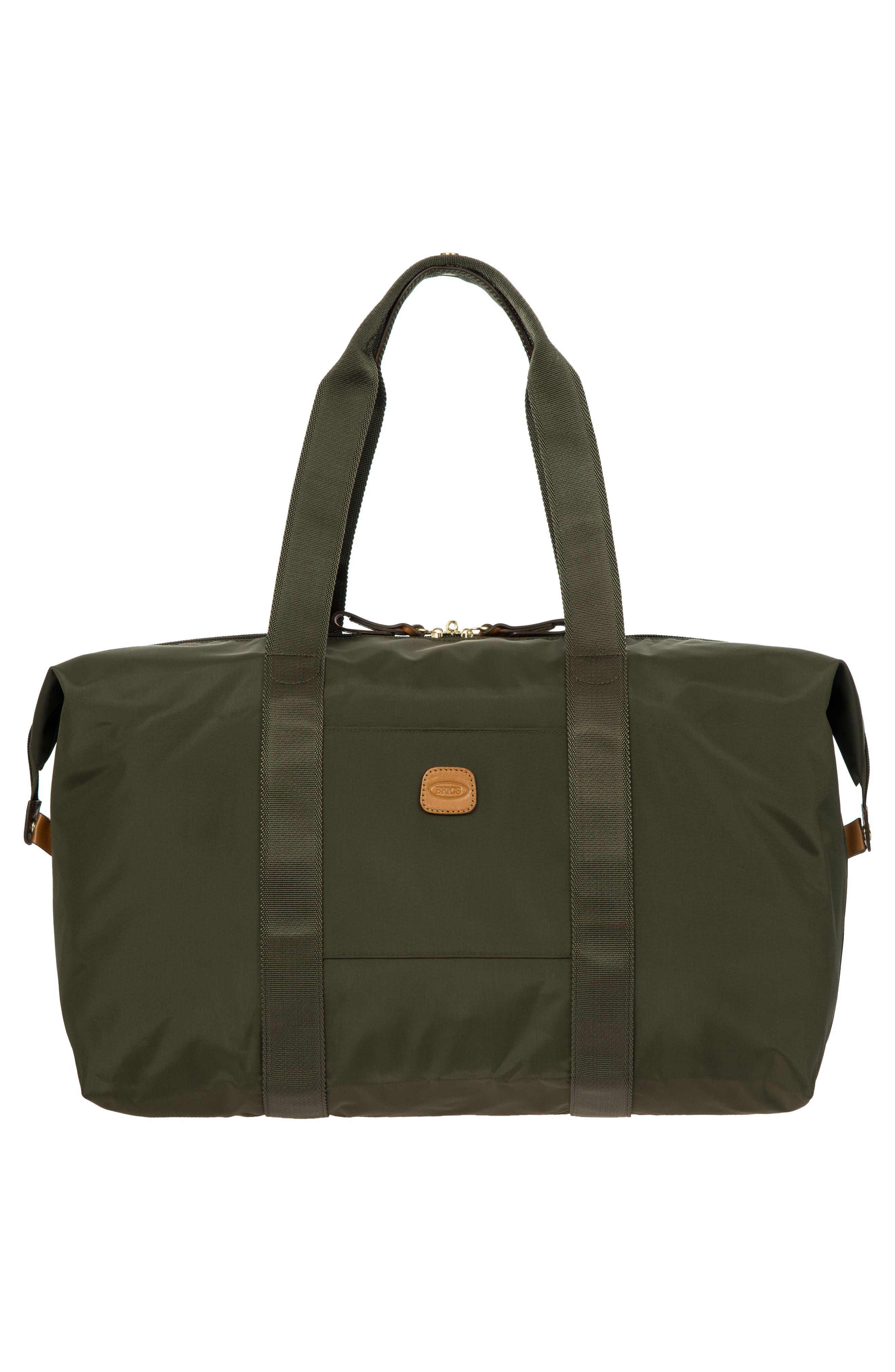 X-Bag 18-Inch Folding Duffel Bag,                             Alternate thumbnail 5, color,                             Olive