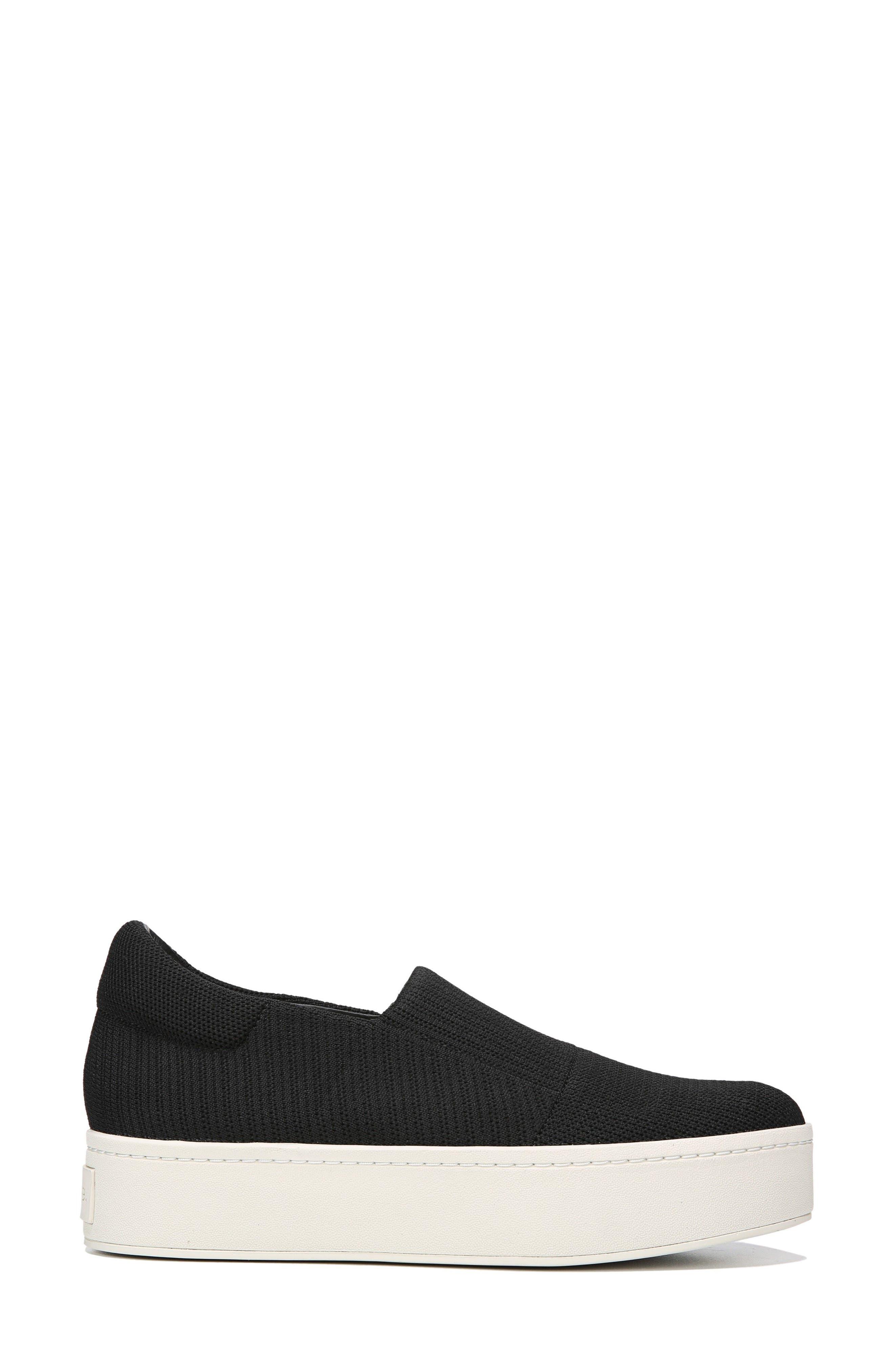 Walsh Slip-On Sneaker,                             Alternate thumbnail 3, color,                             Black