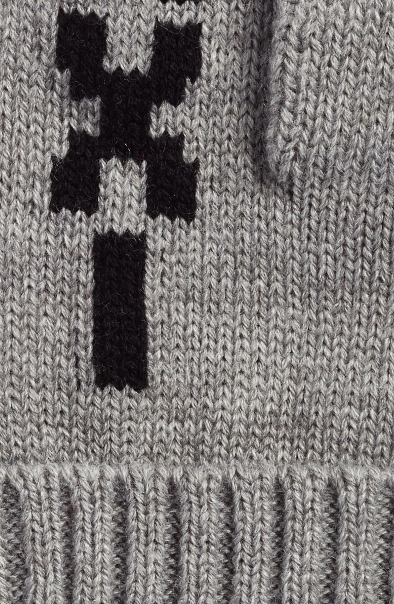 taxi mittens,                             Alternate thumbnail 2, color,                             Heather Gray/ Black