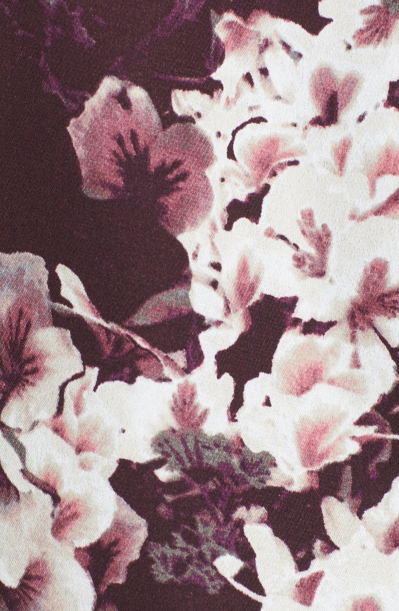 Elga Romper,                             Alternate thumbnail 5, color,                             Aubergine