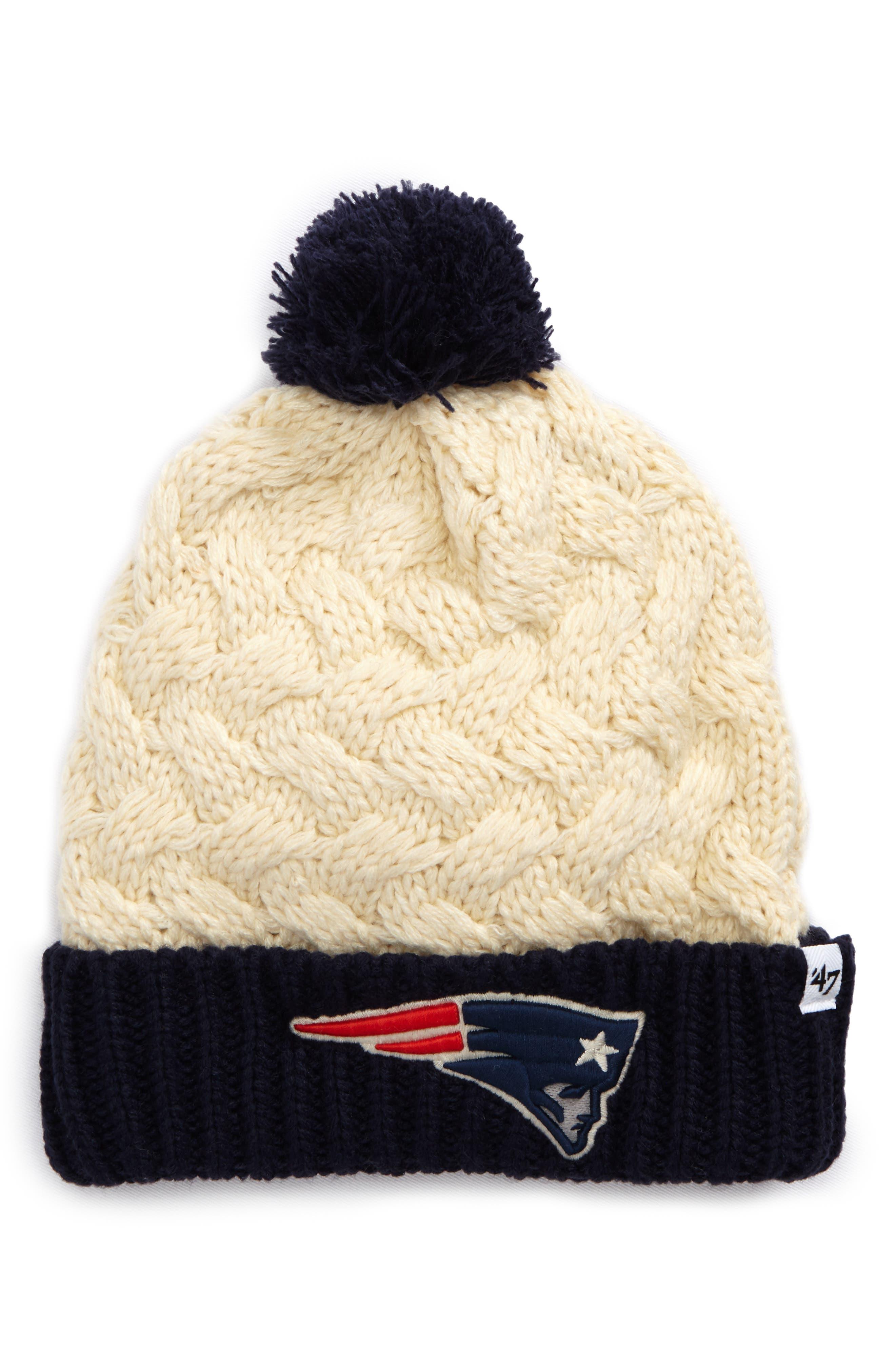 '47 New England Patriots Pom Beanie