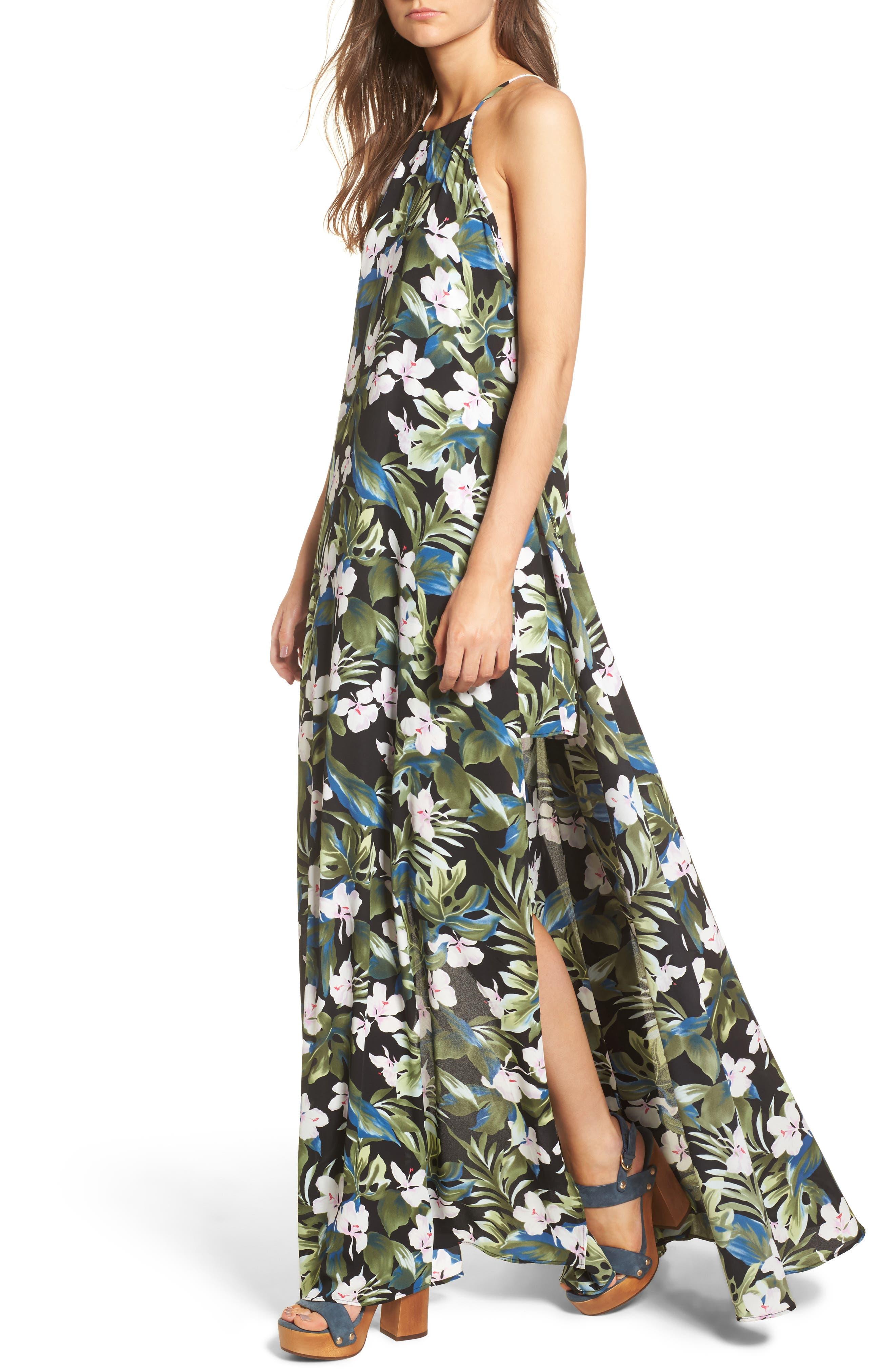 Bronte Maxi Dress,                             Main thumbnail 1, color,                             Monet On Vacay