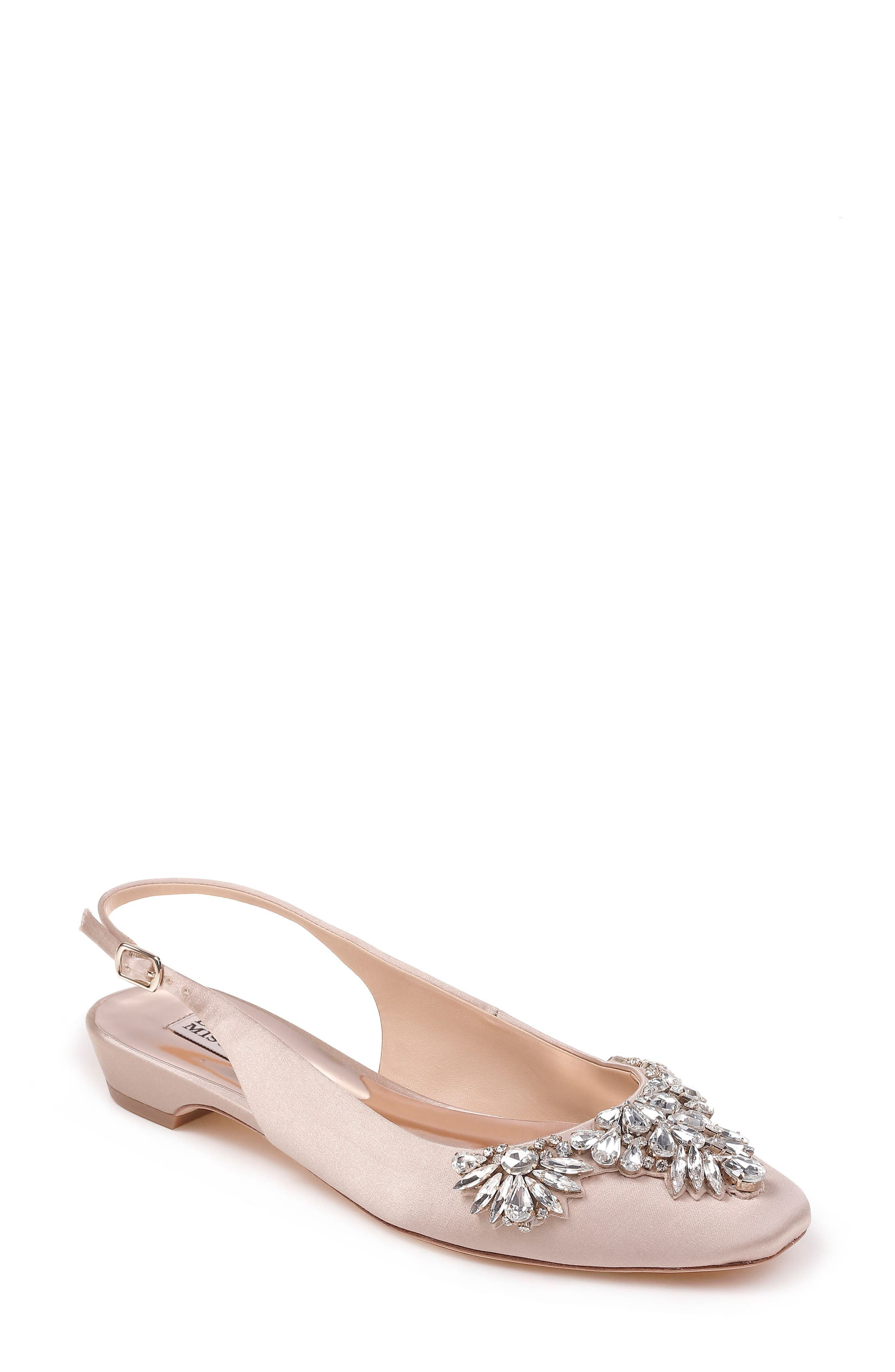 Alternate Image 1 Selected - Badgley Mischka Shayla Slingback Flat (Women)