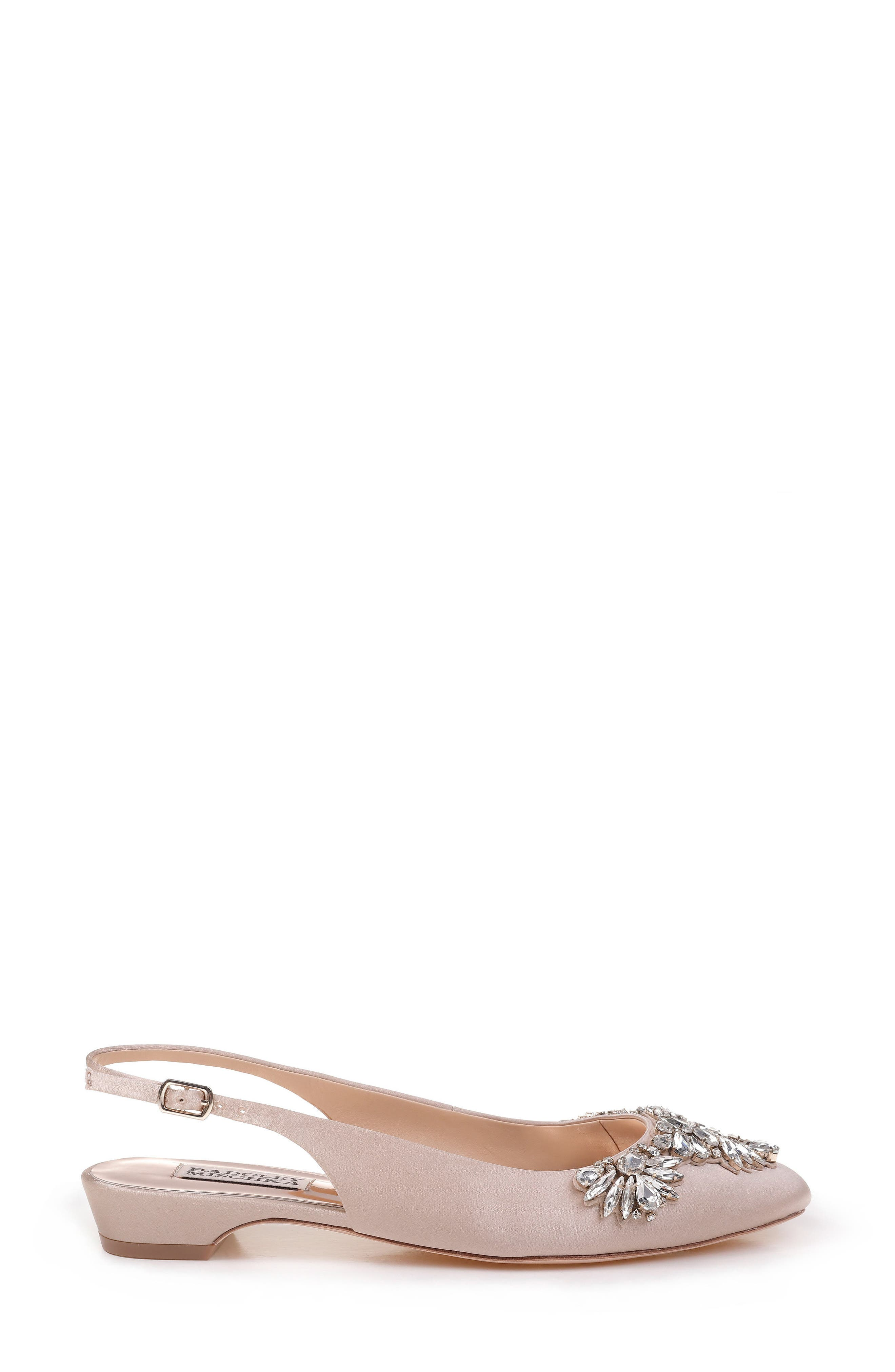 Alternate Image 3  - Badgley Mischka Shayla Slingback Flat (Women)
