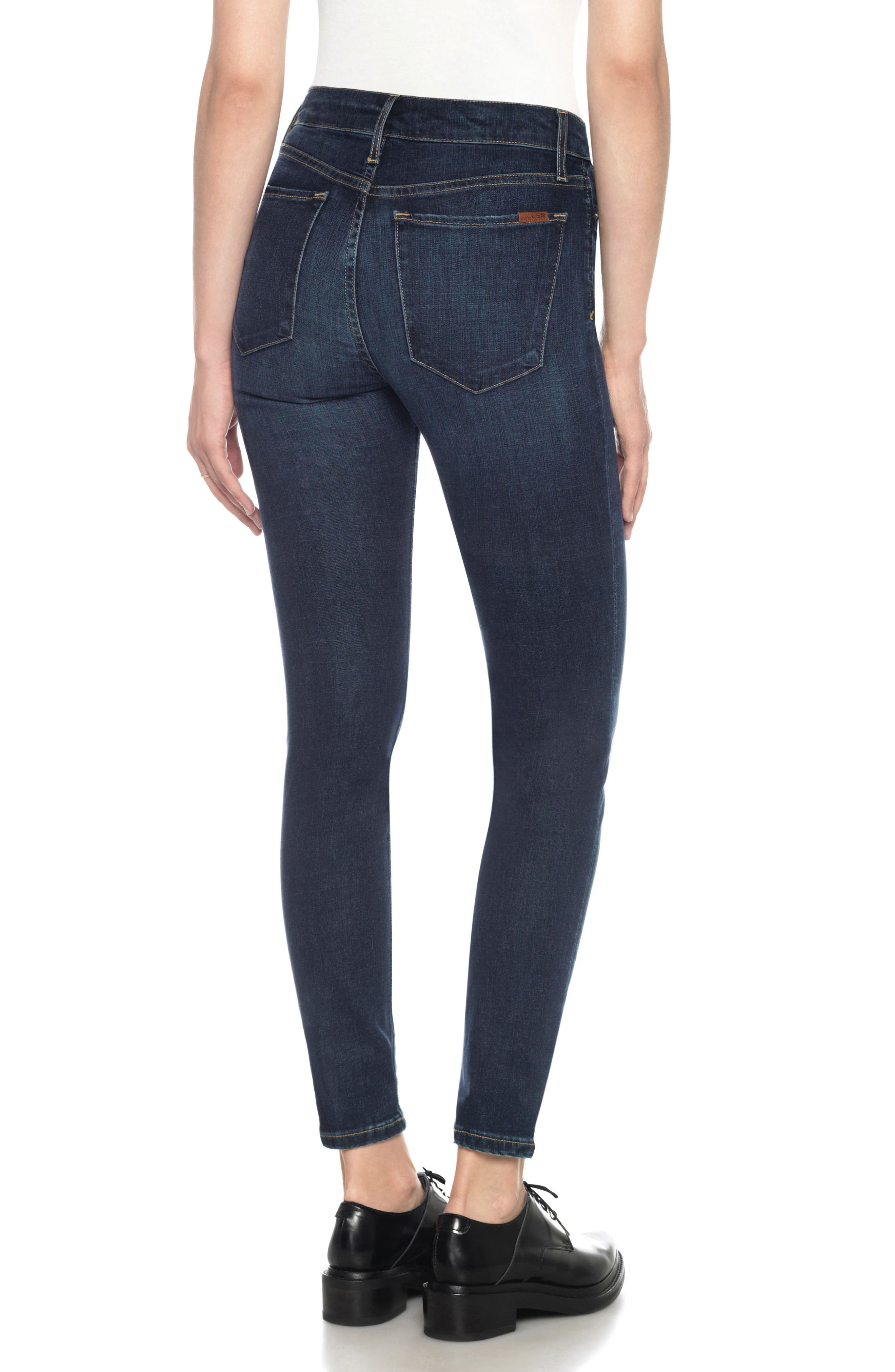 Flawless - Charlie High Rise Ankle Skinny Jeans,                             Alternate thumbnail 2, color,                             Tania