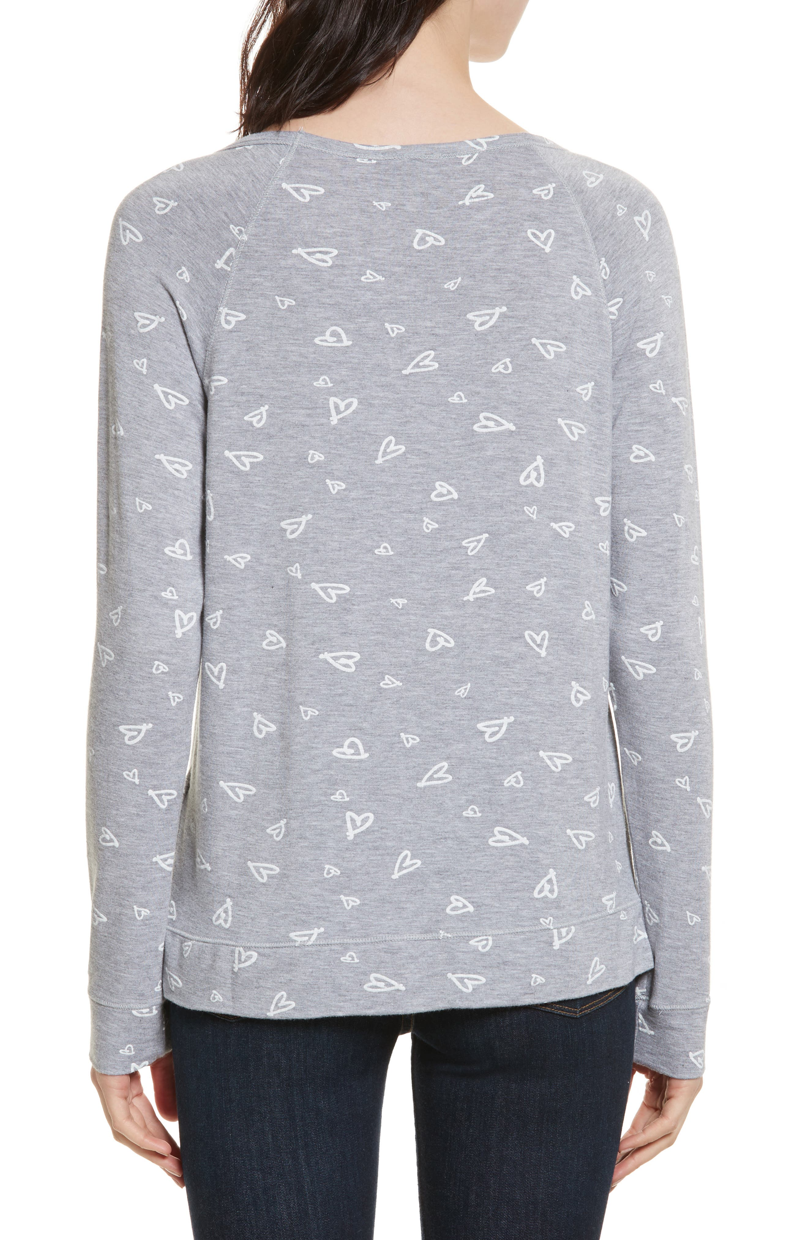 Alternate Image 2  - Joie Annora B Print Cotton & Modal Blend Sweatshirt