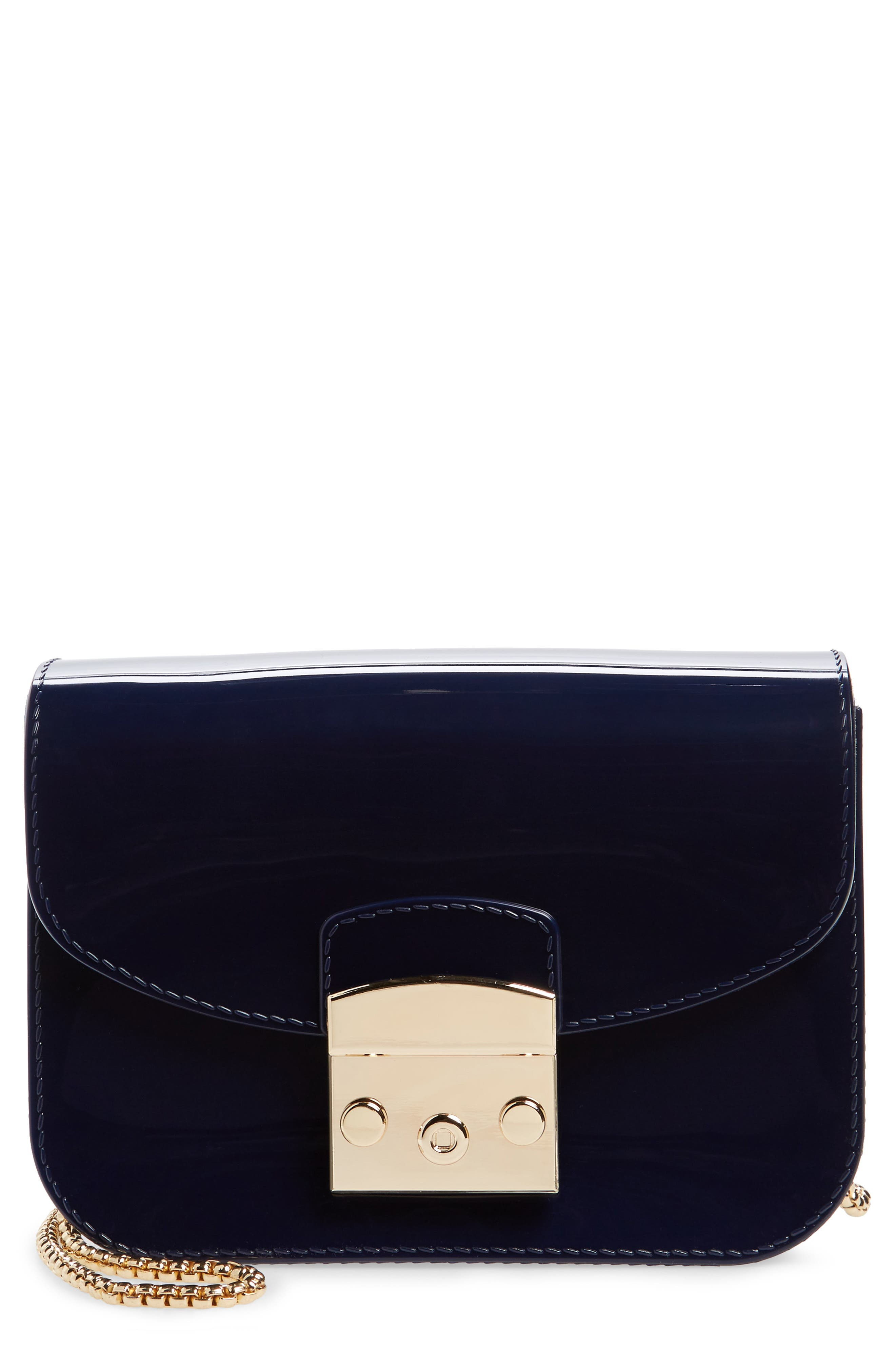 Jelly Shoulder Bag,                             Main thumbnail 1, color,                             Navy