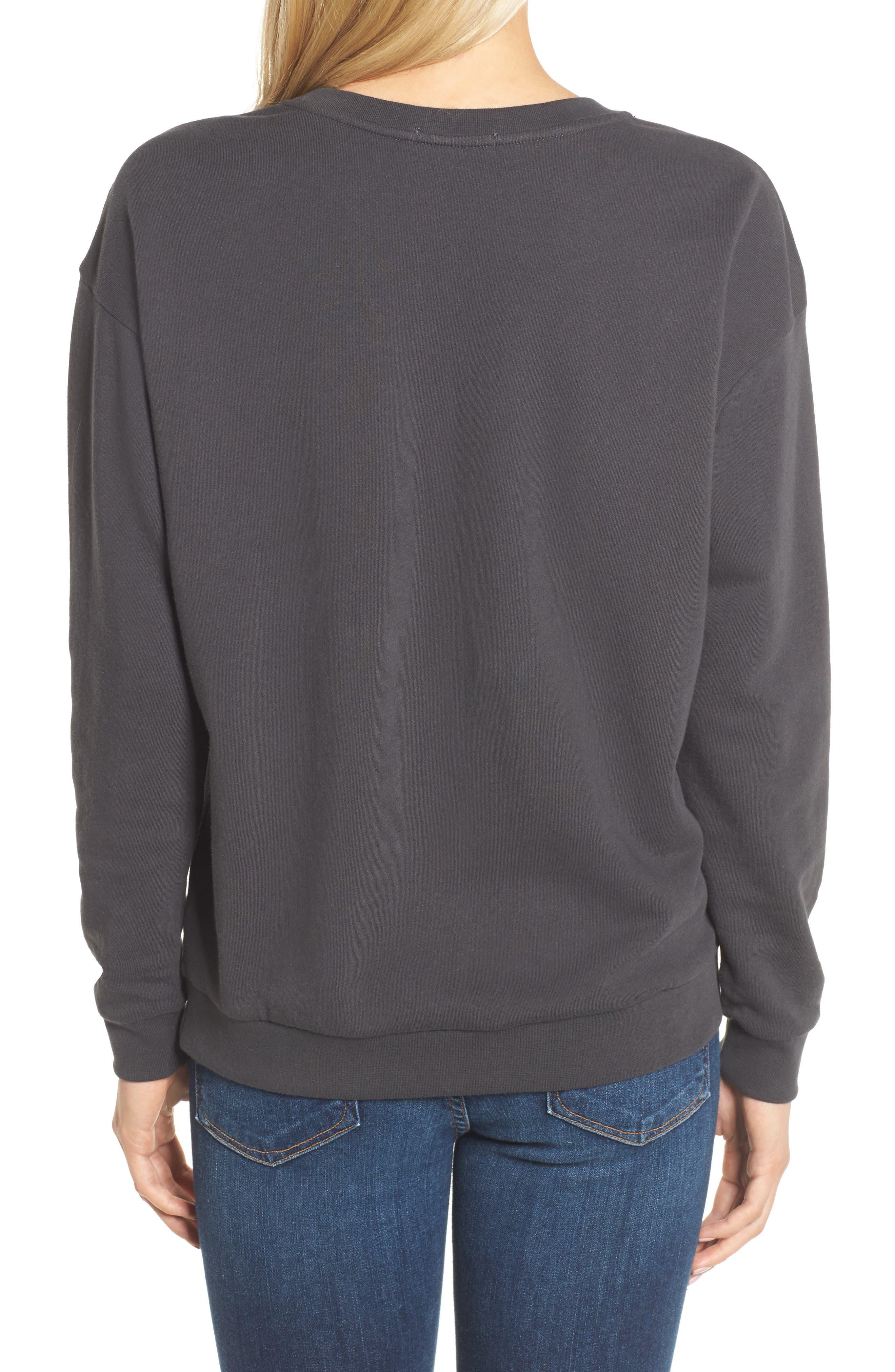 Feeling Bubbly Sweatshirt,                             Alternate thumbnail 2, color,                             Black