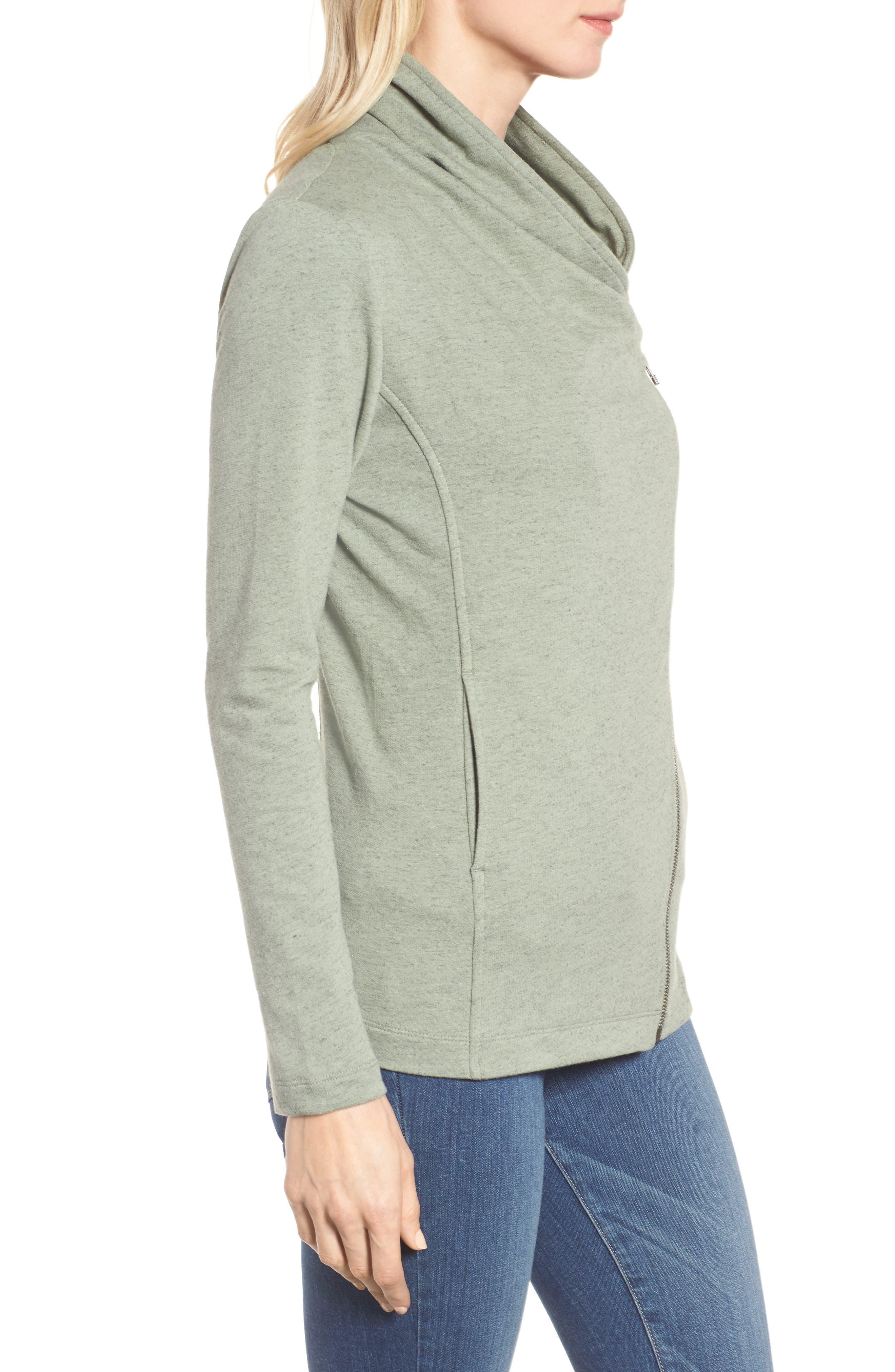 Alternate Image 3  - Caslon® Stella Knit Jacket (Regular & Petite)