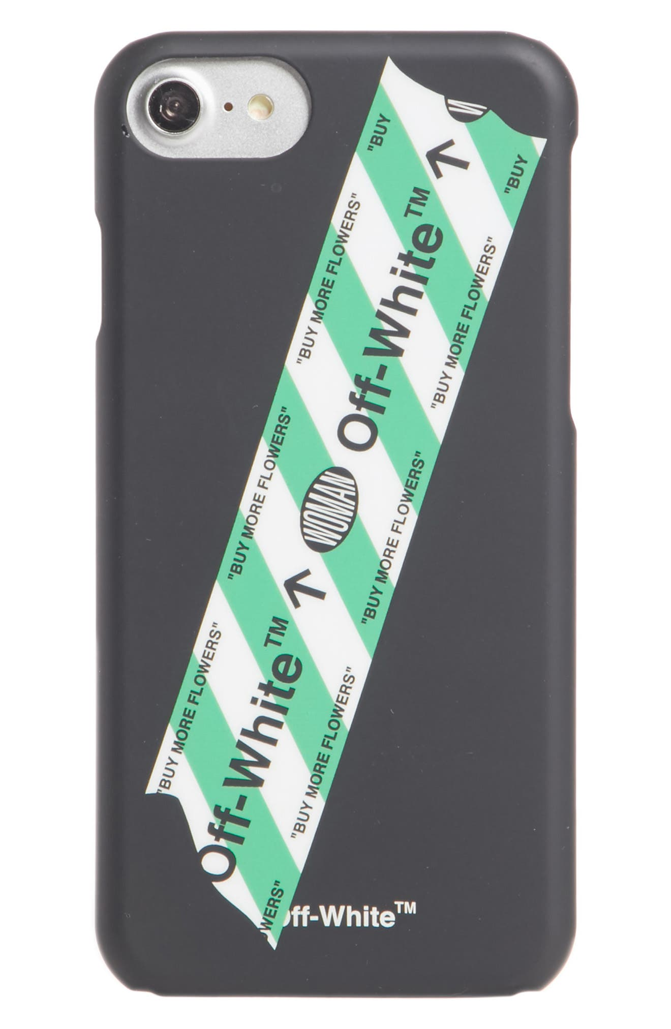 Alternate Image 1 Selected - Off-White Tape iPhone 7 Case