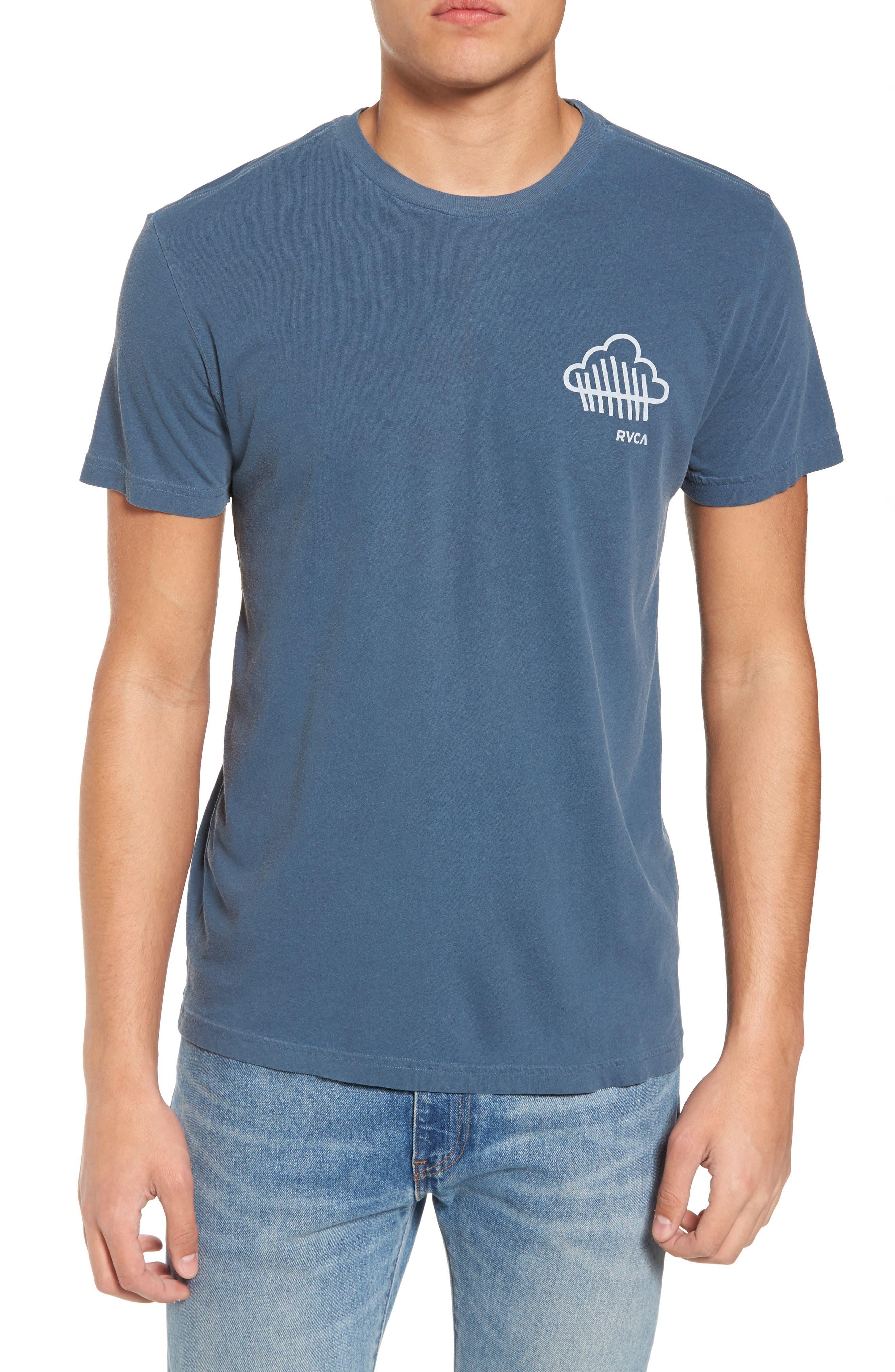 Never Not Having Fun Graphic T-Shirt,                             Main thumbnail 1, color,                             Dark Denim