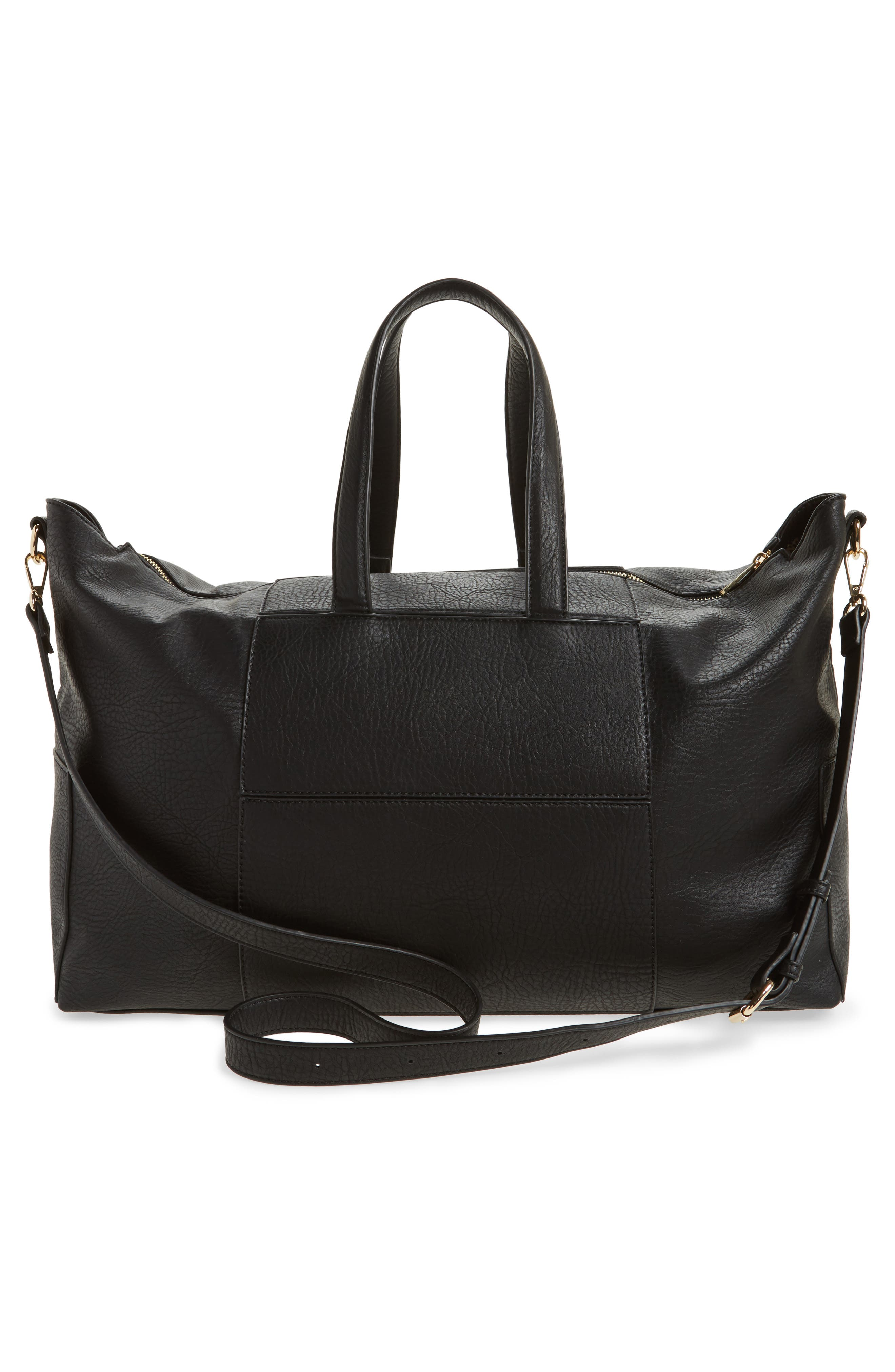 Alternate Image 3  - Sole Society Cory Faux Leather Travel Tote