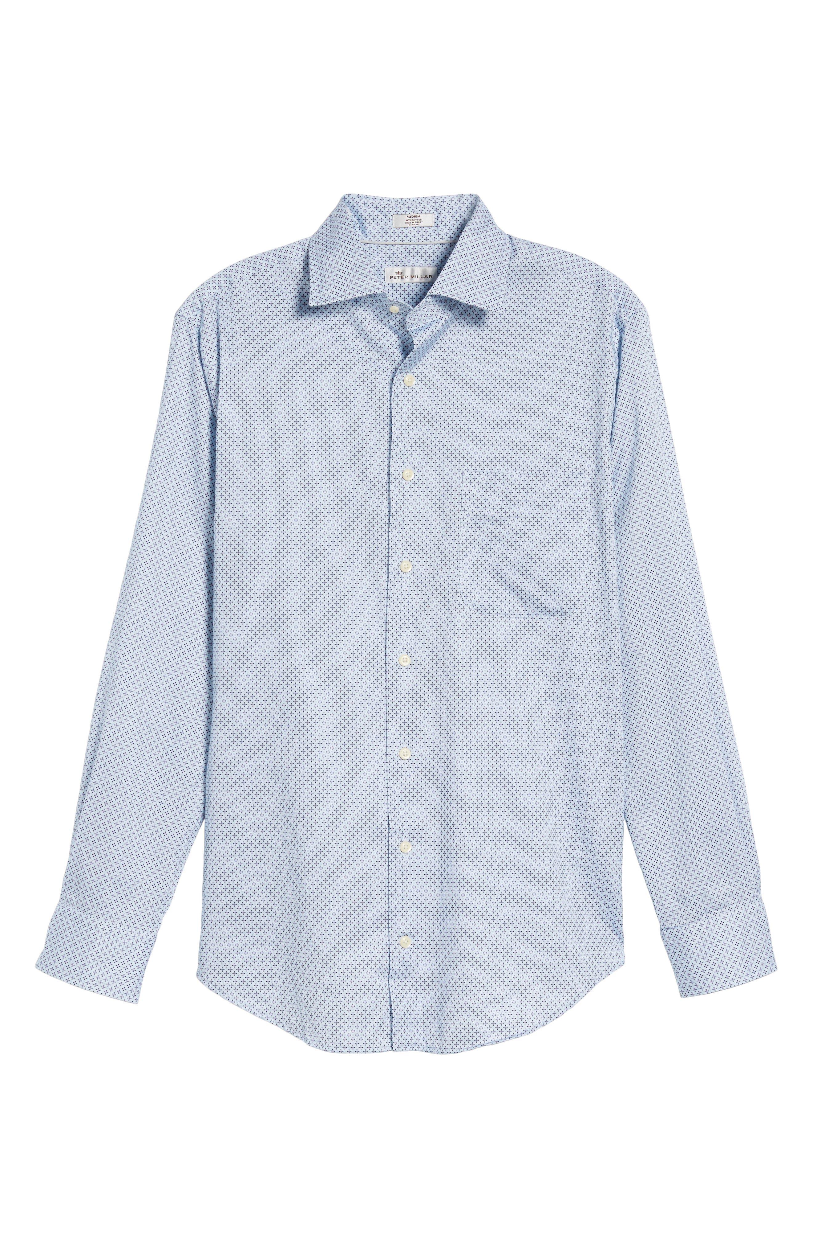 Alternate Image 6  - Peter Millar Flashback Classic Fit Print Sport Shirt