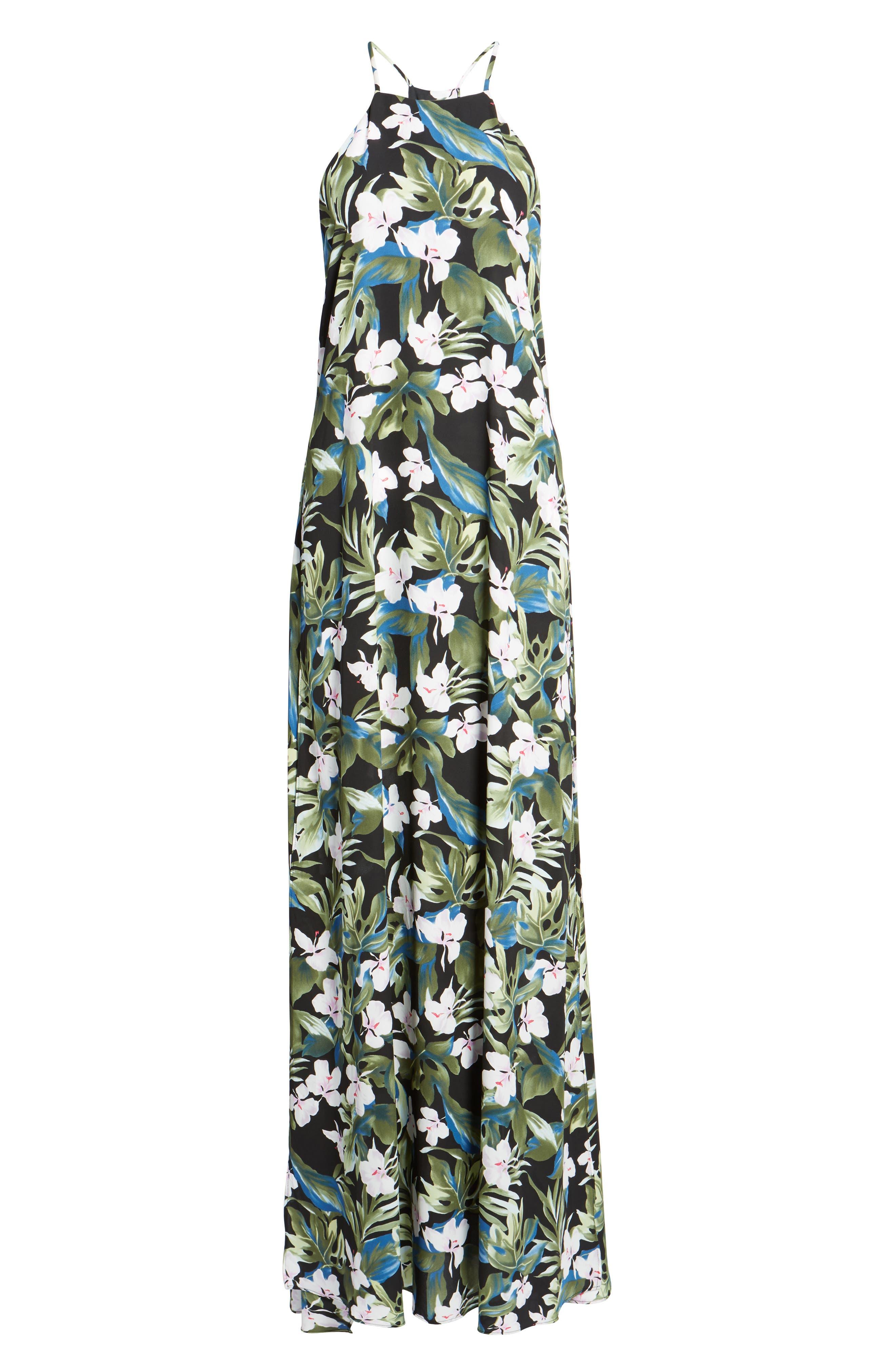 Bronte Maxi Dress,                             Alternate thumbnail 6, color,                             Monet On Vacay