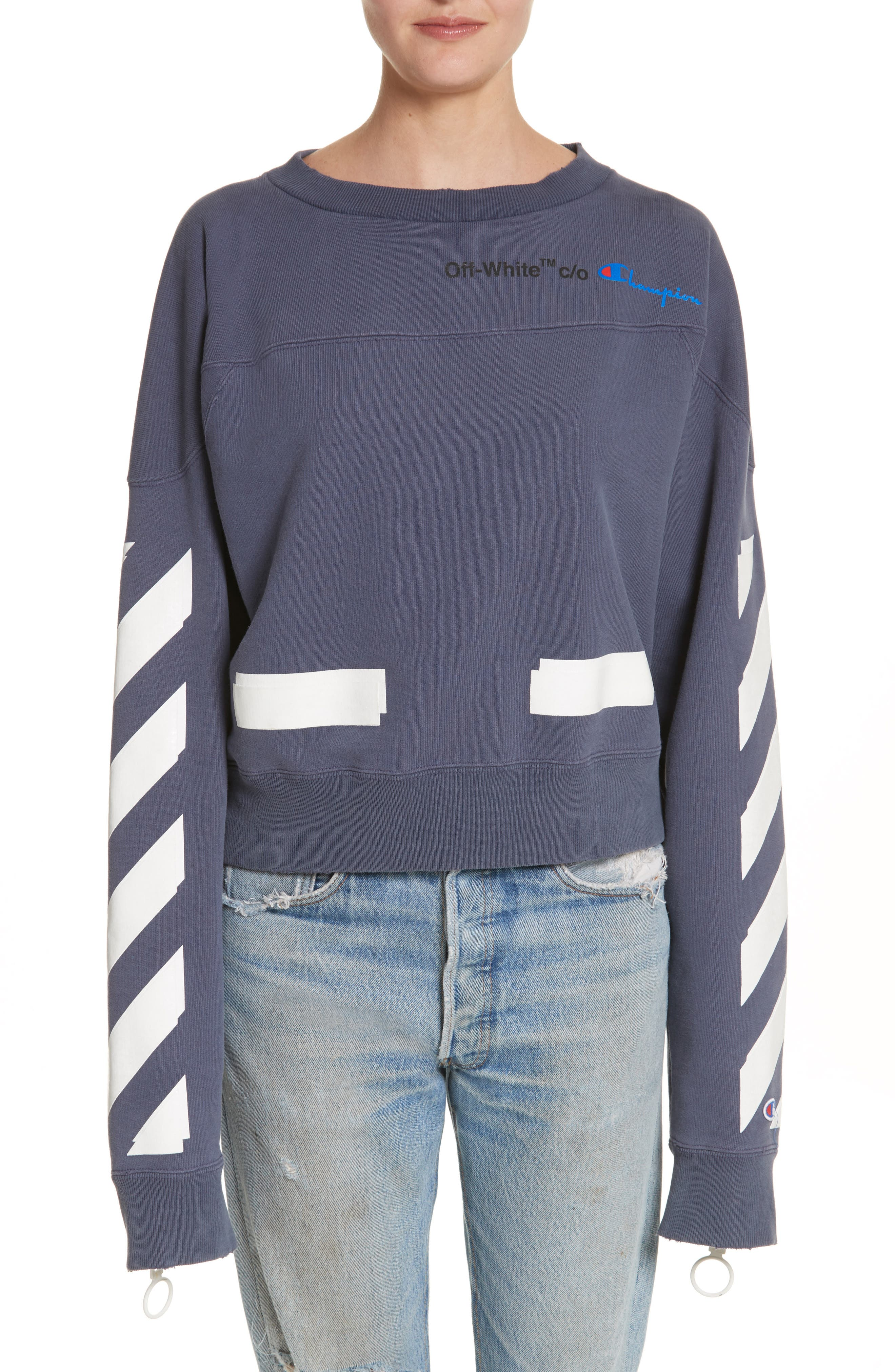Off-White x Champion Crewneck Sweatshirt