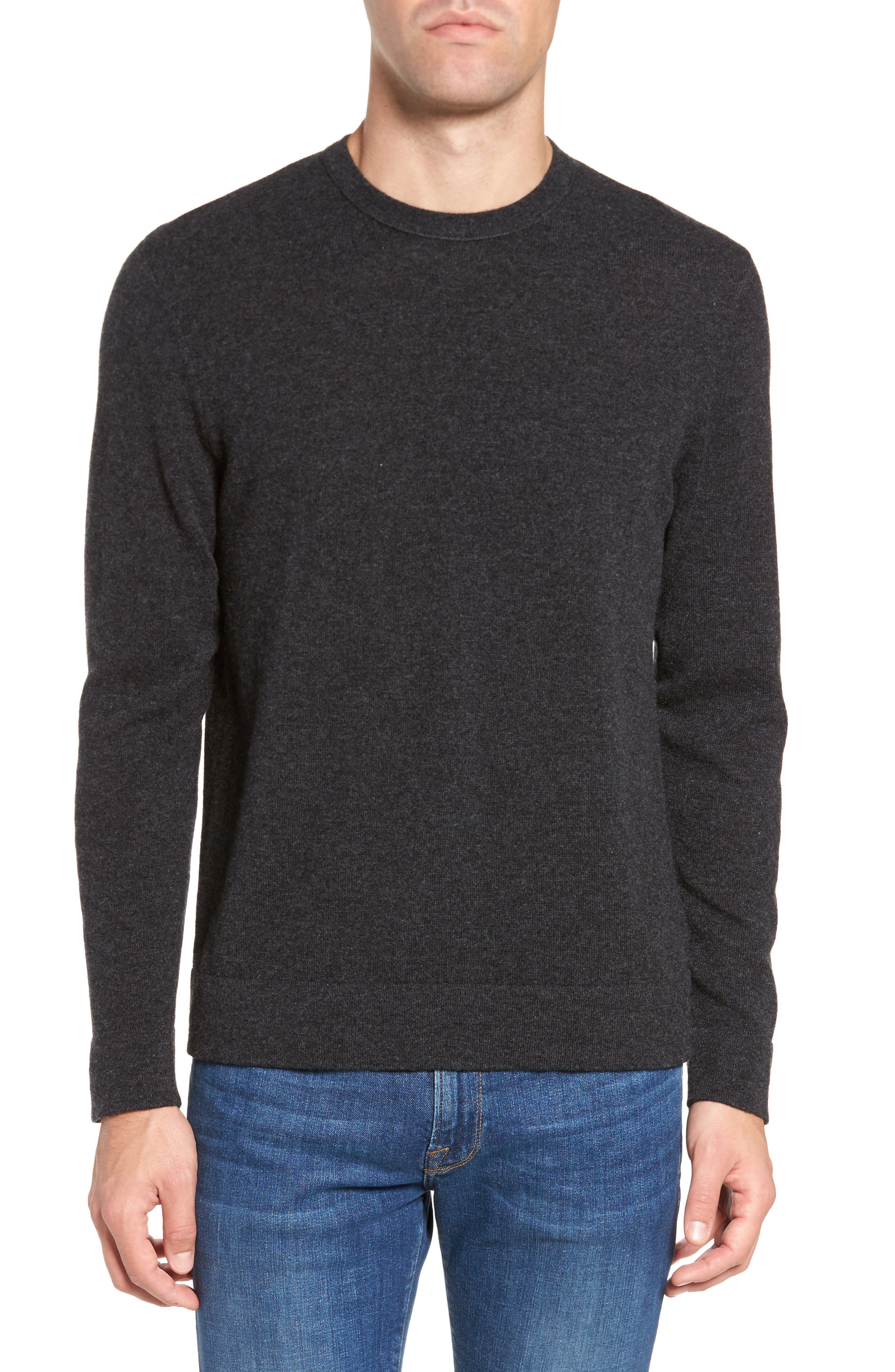 James Perse Intarsia Cashmere Sweater