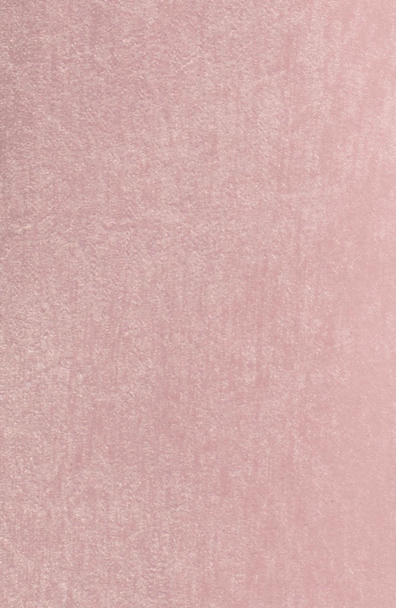 Wrap Maxi Dress,                             Alternate thumbnail 5, color,                             Ballet Pink