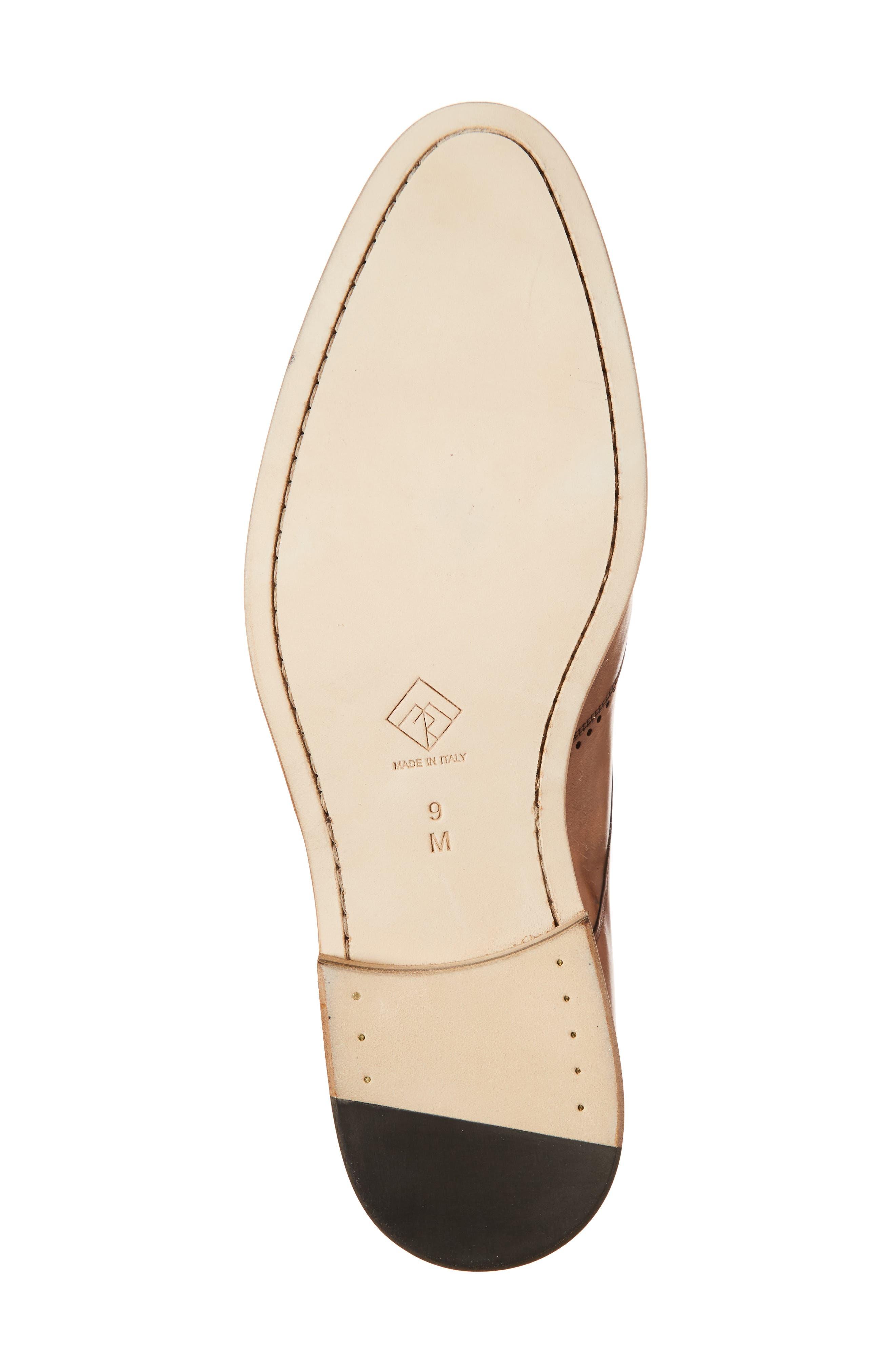 Francesco Wingtip Derby,                             Alternate thumbnail 6, color,                             Tan Leather